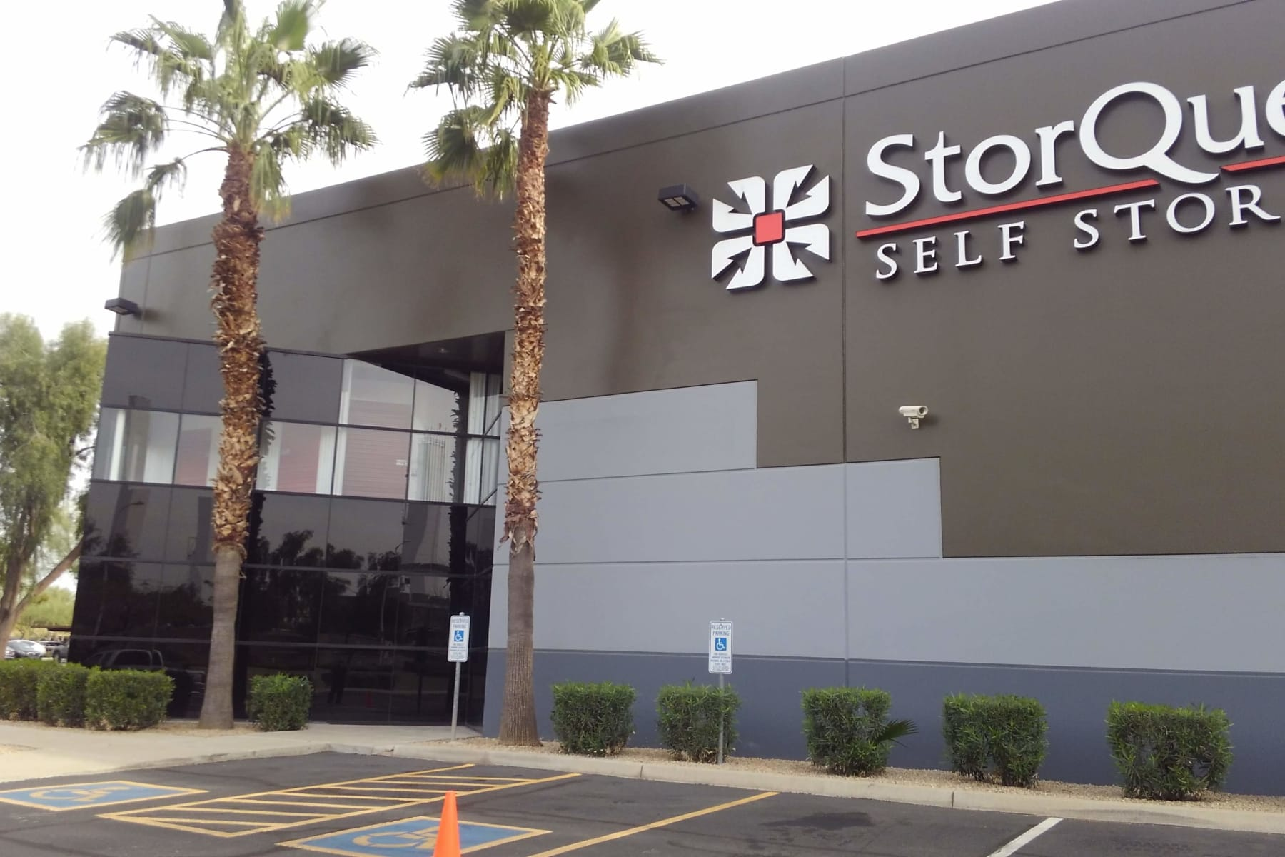 View of facility at StorQuest Self Storage in Chandler, AZ