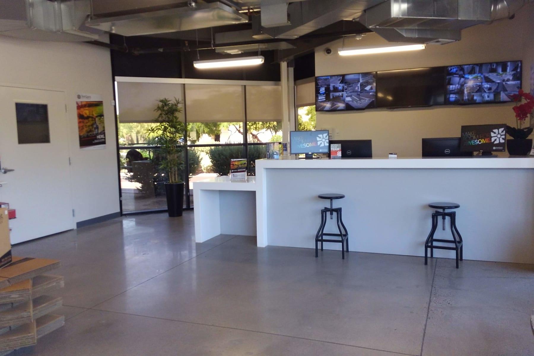 Leasing office at StorQuest Self Storage in Chandler, AZ