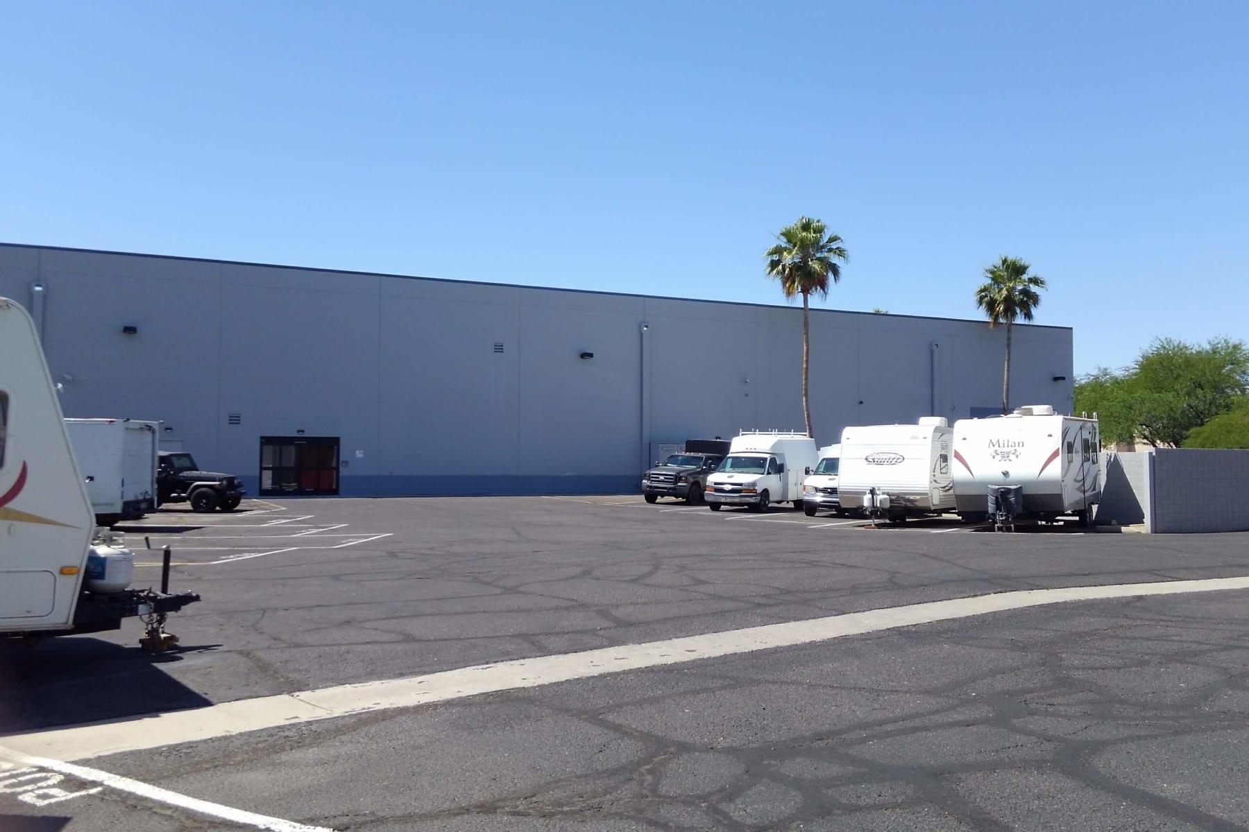 Parking at StorQuest Self Storage in Chandler, AZ