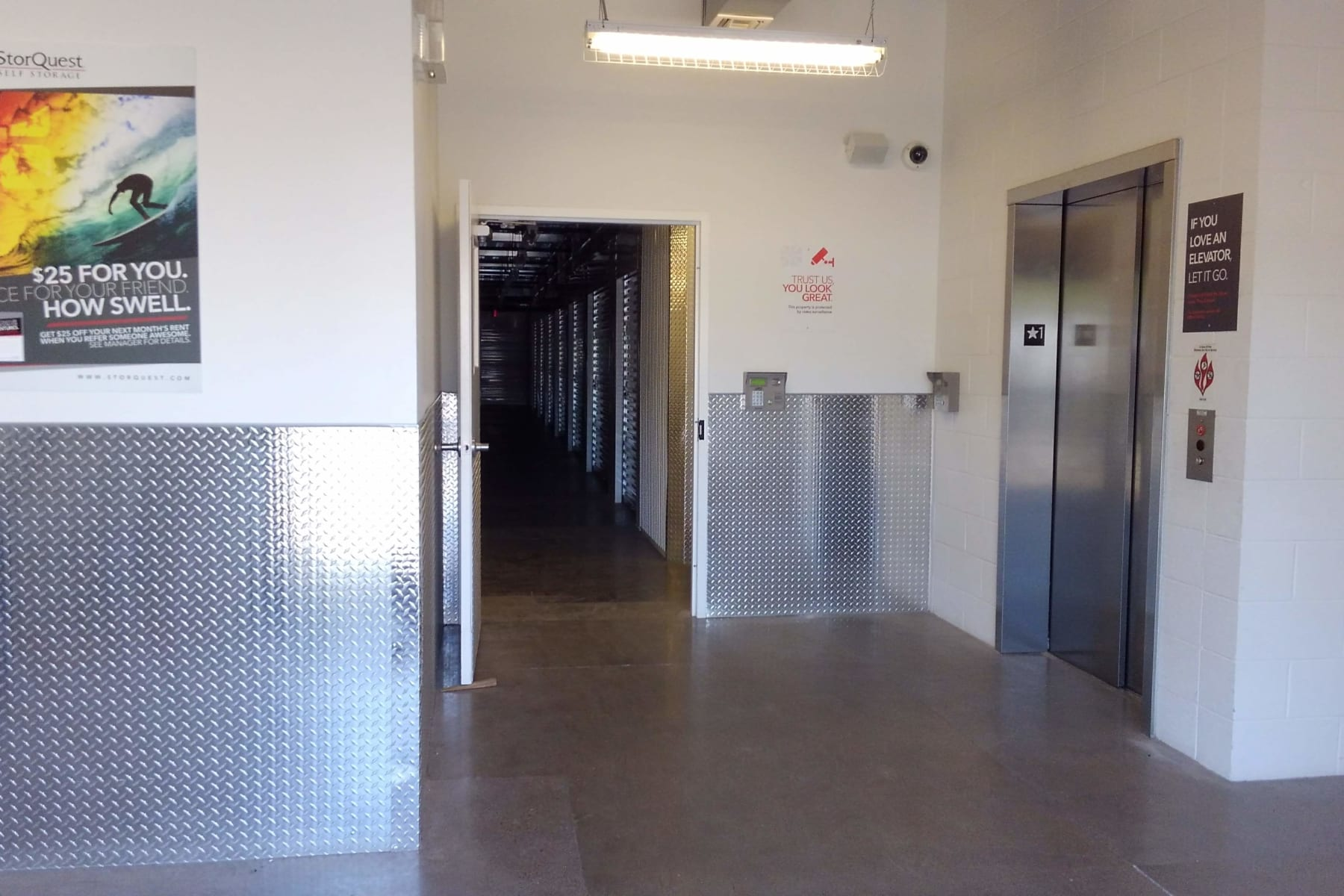Facility entrance at StorQuest Self Storage in Chandler, AZ