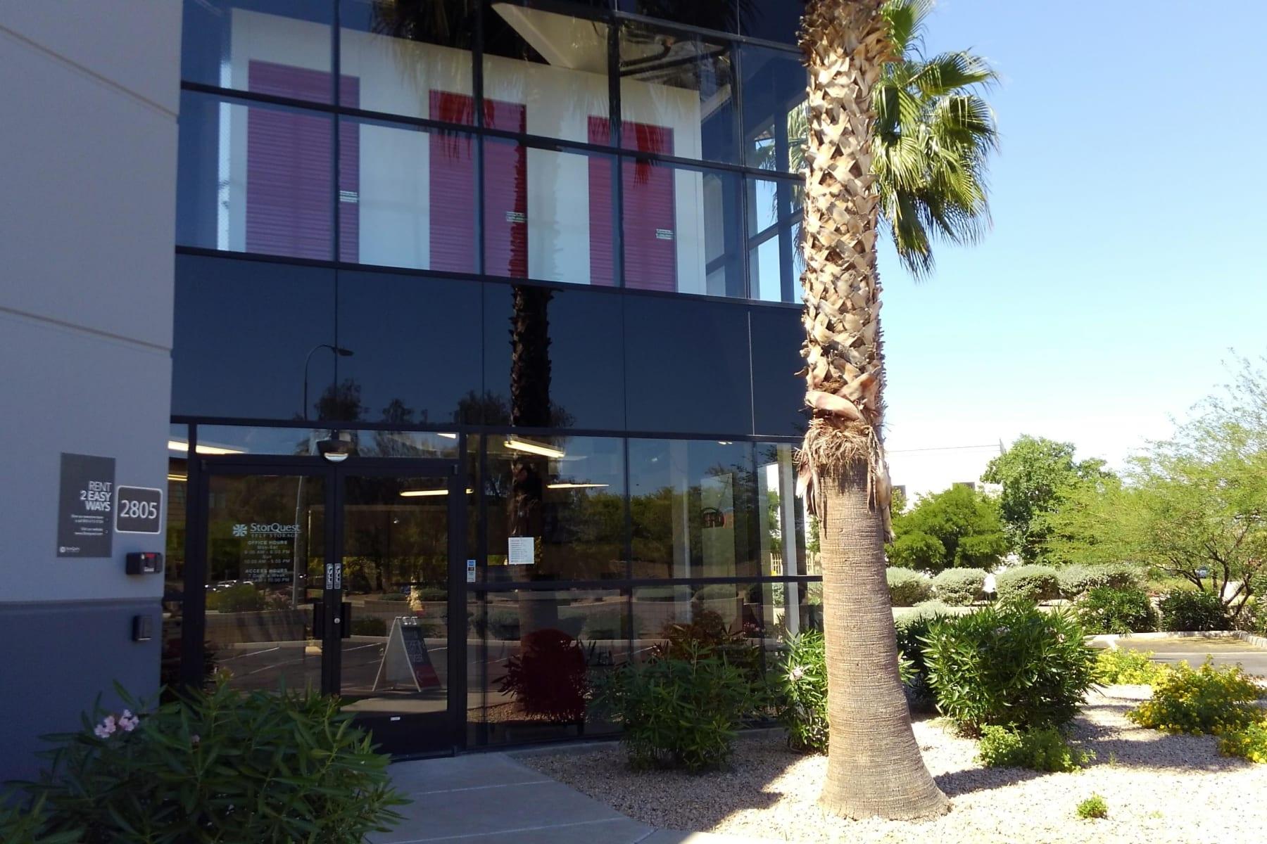 Storage units at StorQuest Self Storage in Chandler, AZ