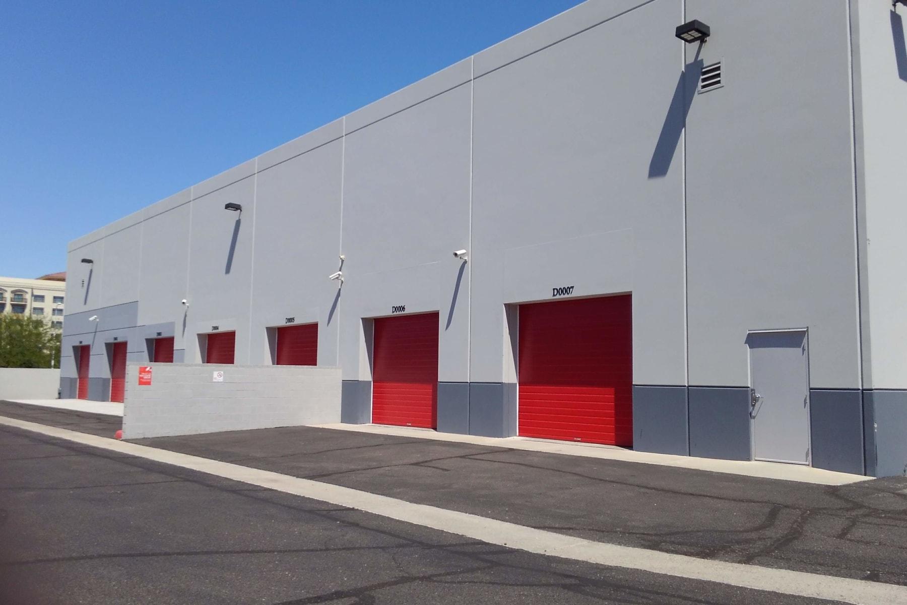 Exterior storage units at StorQuest Self Storage in Chandler, AZ