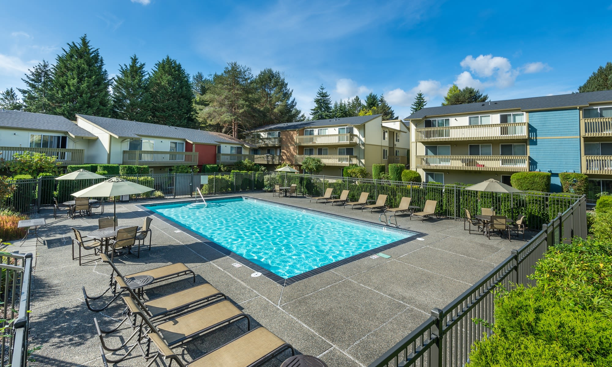 Edgewood Park Apartments in Bellevue, Washington