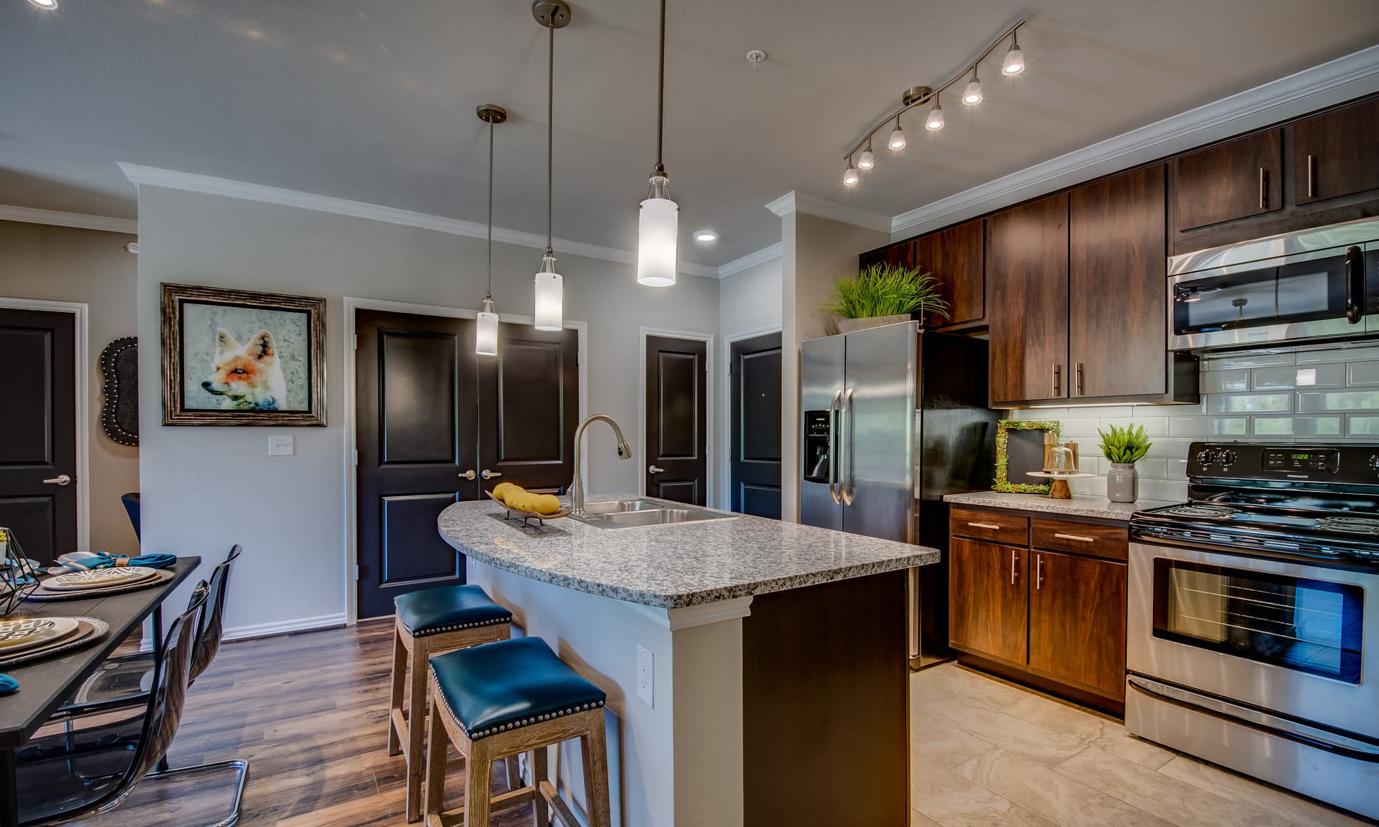 The Abbey at Dominion Crossing offers a beautiful kitchen in San Antonio, TX