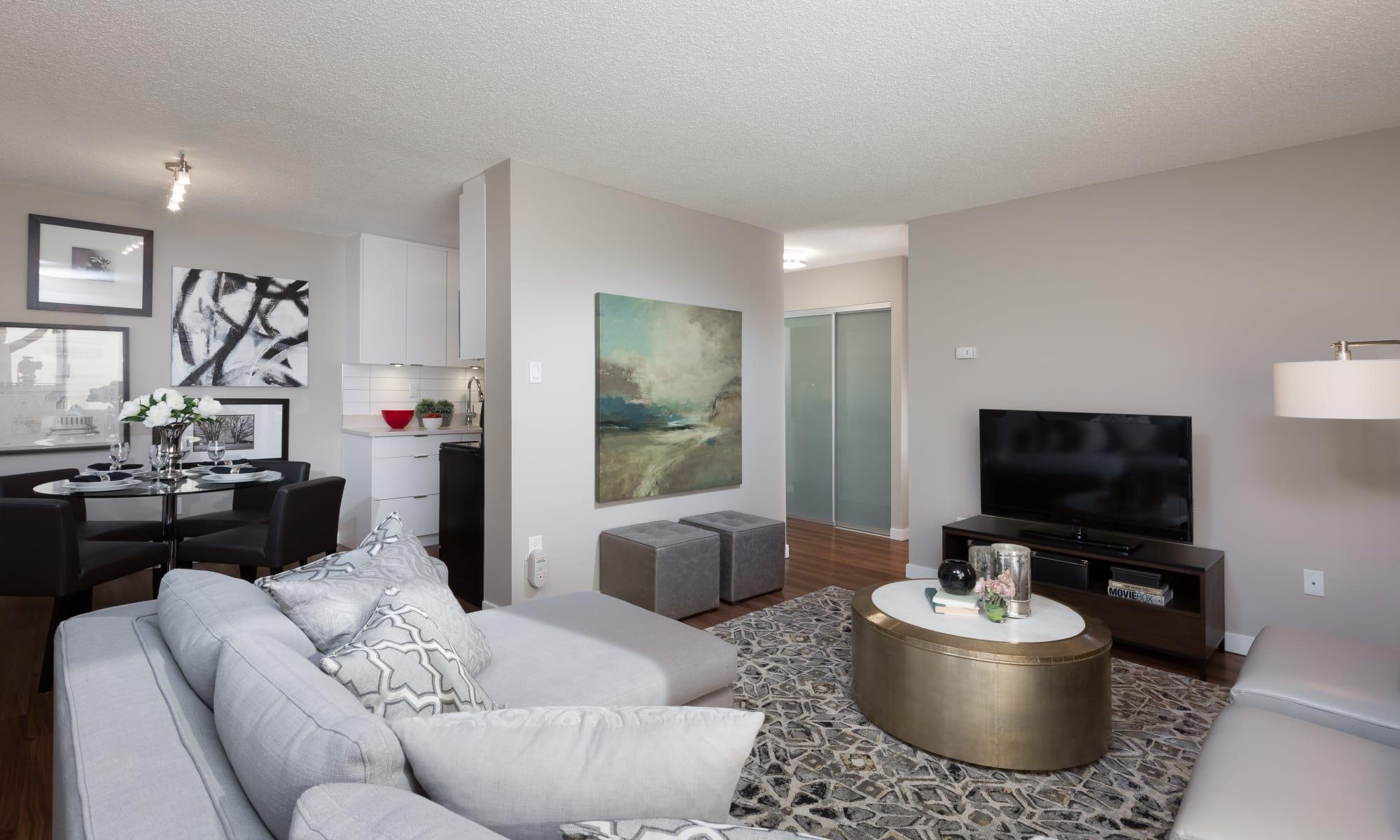 Apartments at Panarama Tower in Burnaby