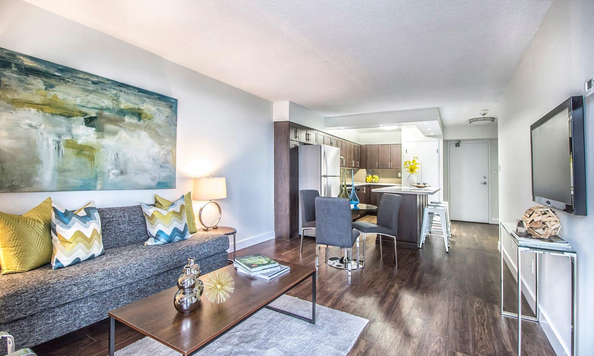Apartments at 57 Charles at Bay in Toronto