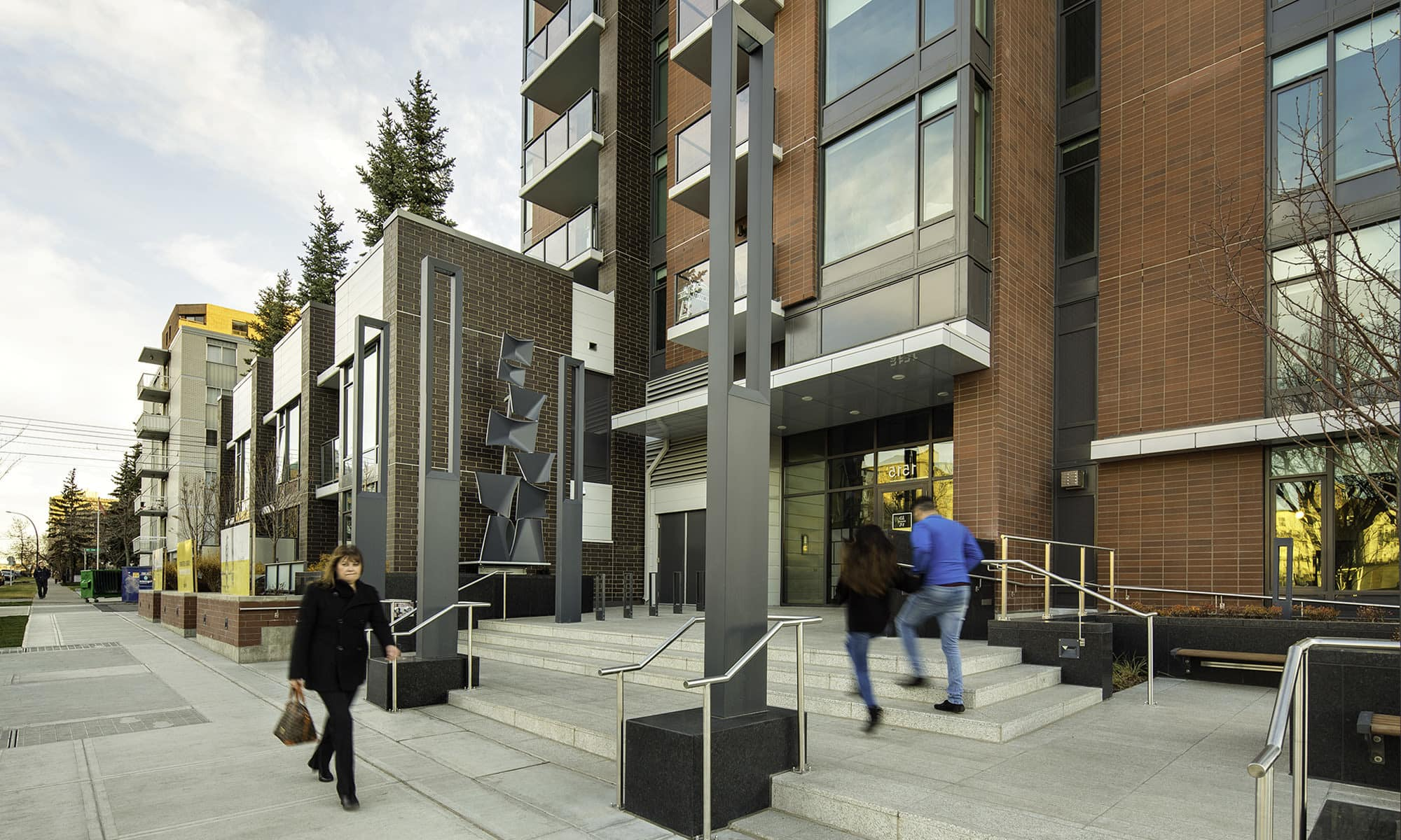 Exterior shot of Fifteen15 in Calgary