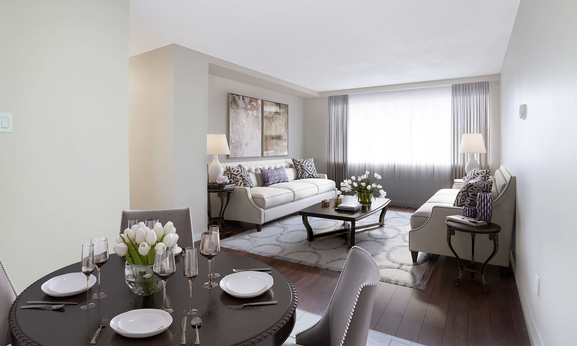 Family Room at Lakeview Mews