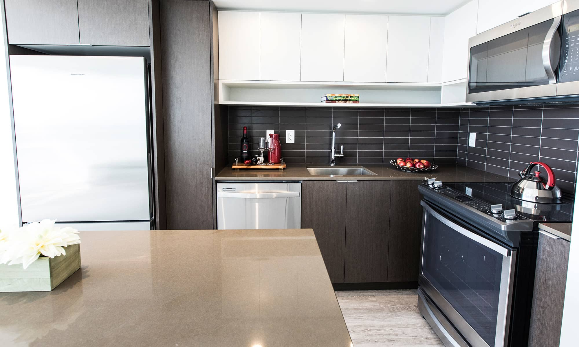 Bretton Place offers a luxury kitchen in Toronto, Ontario
