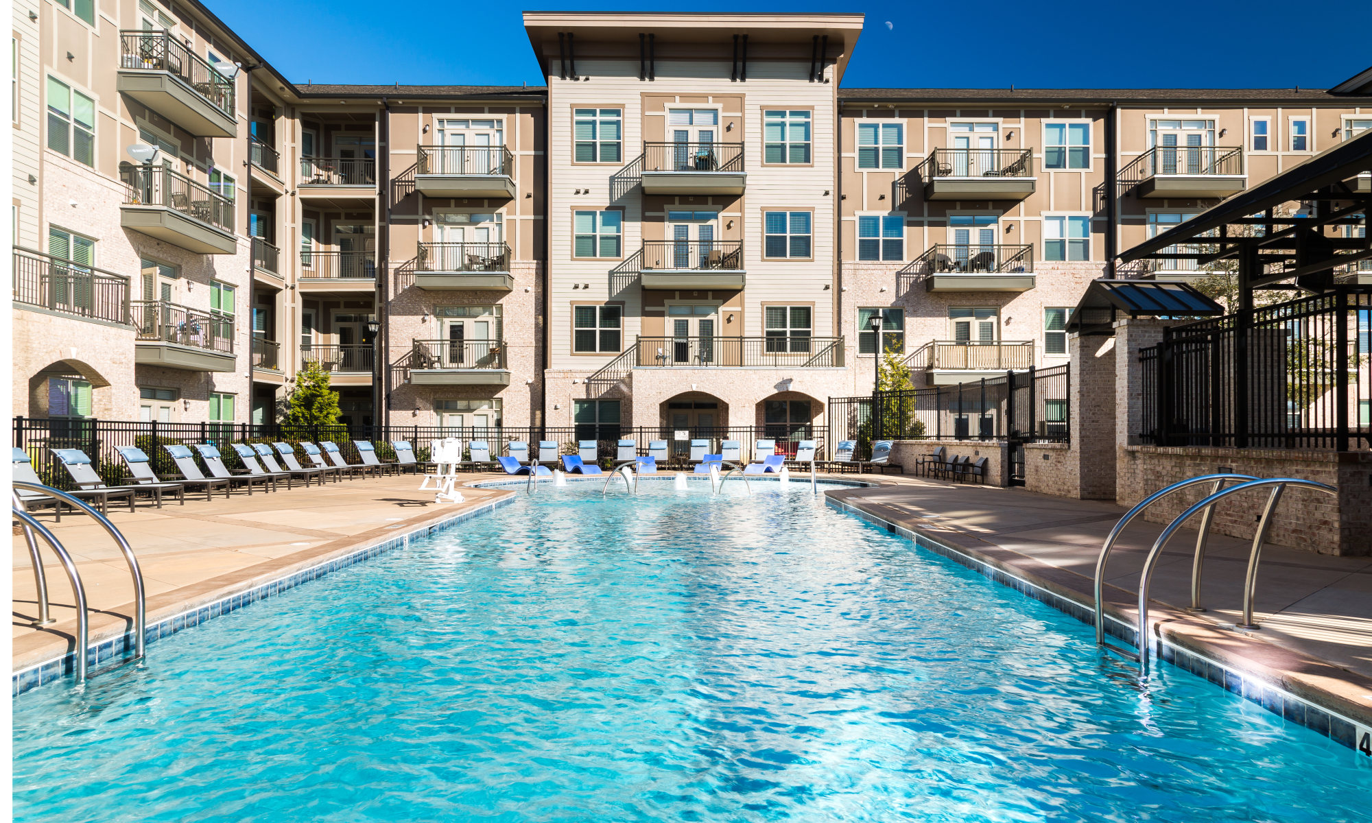 Luxury Apartments Pool. Apartments at Bradford Luxury  Townhomes for Rent in Cary NC