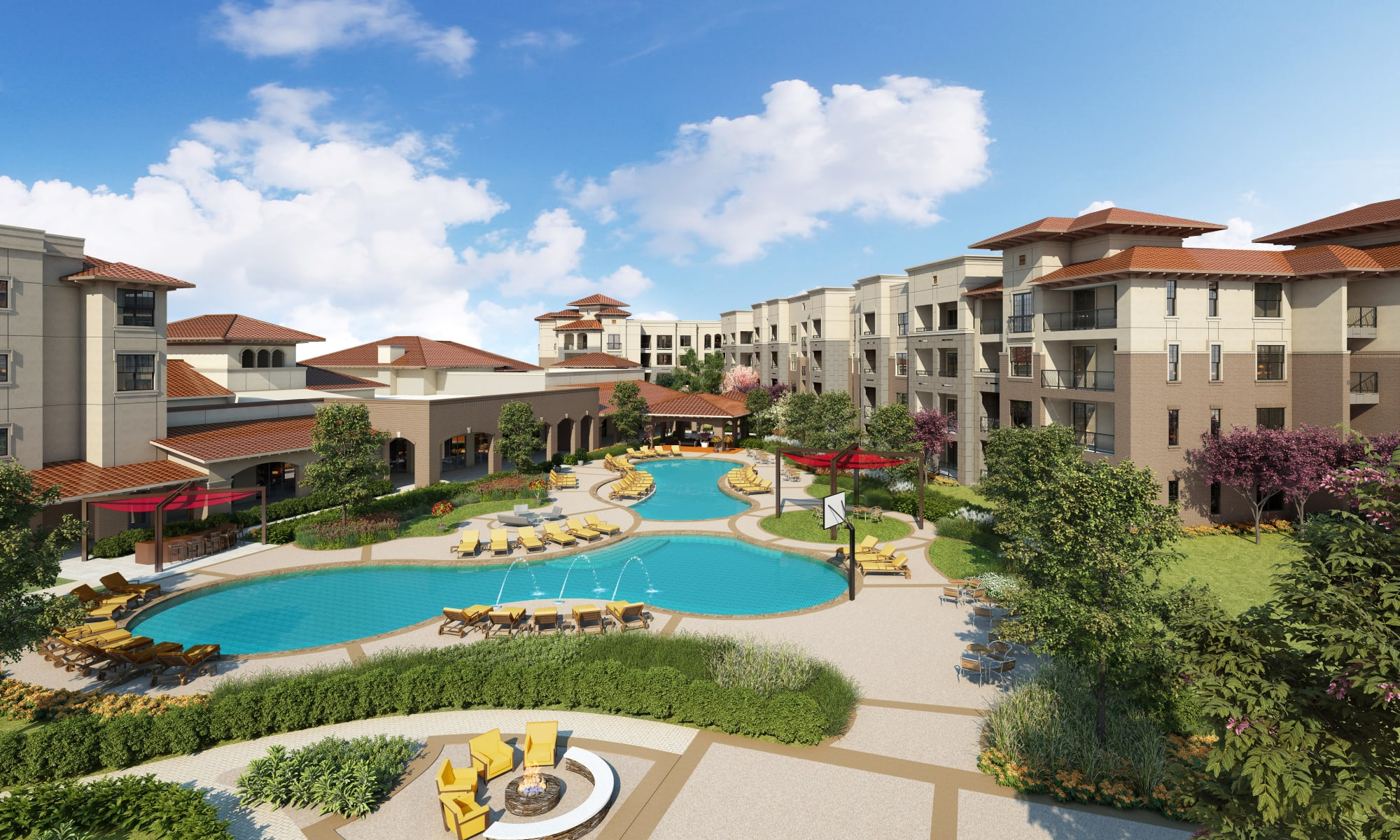 Apartments at Villas at the Rim in San Antonio, Texas