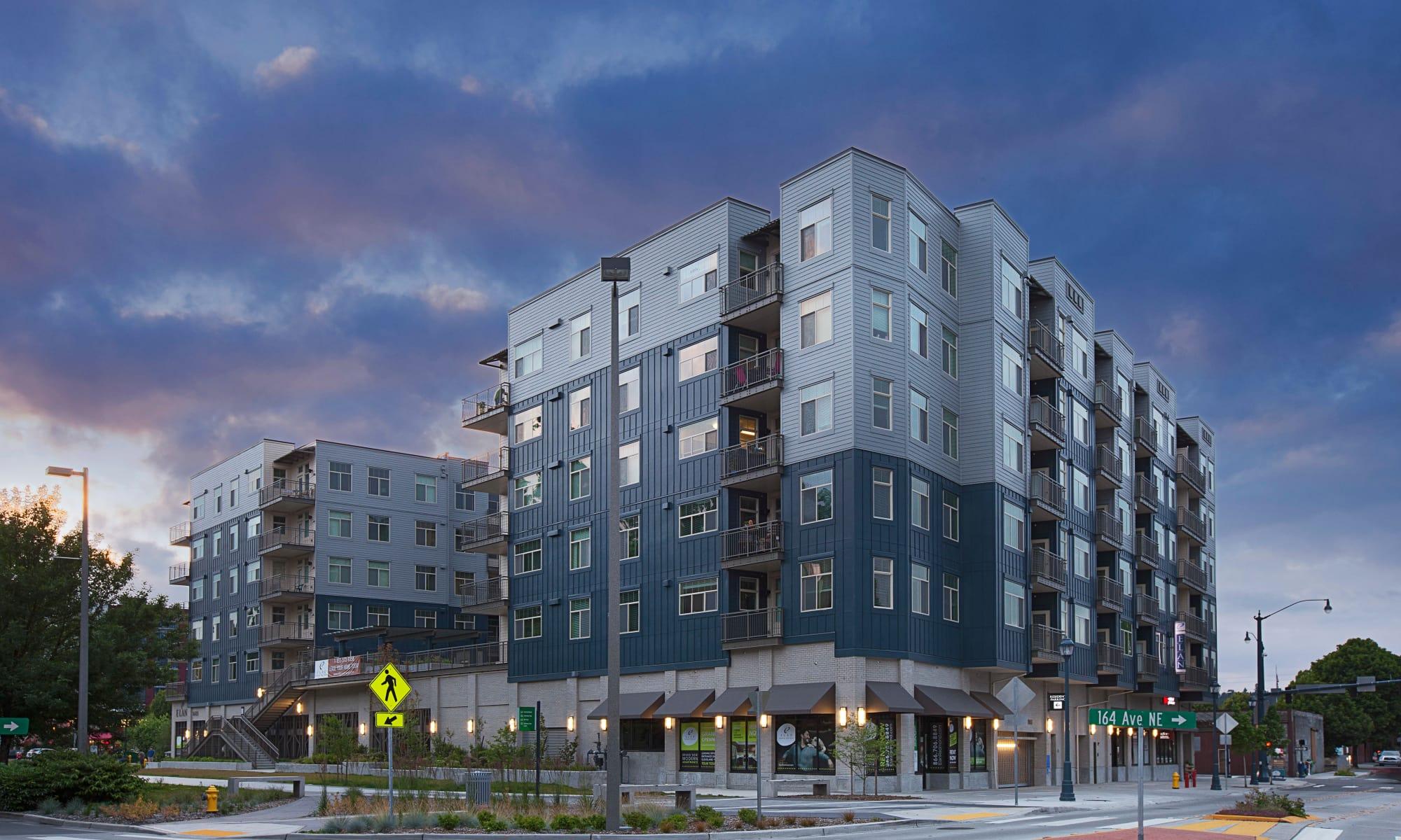 Luxury apartments in Redmond