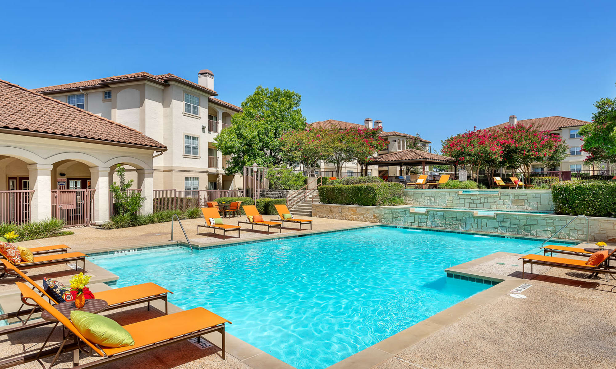 Apartments at Mira Vista at La Cantera in San Antonio, Texas