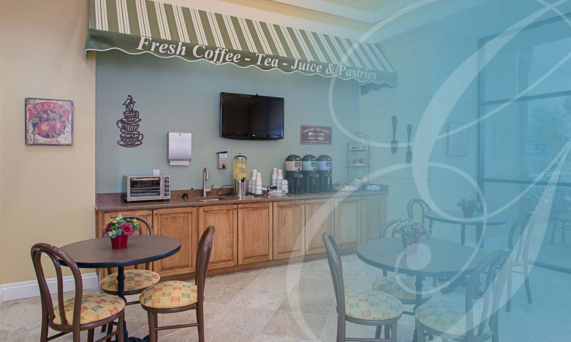 Cafe at Grand Villa of DeLand in DeLand, Florida