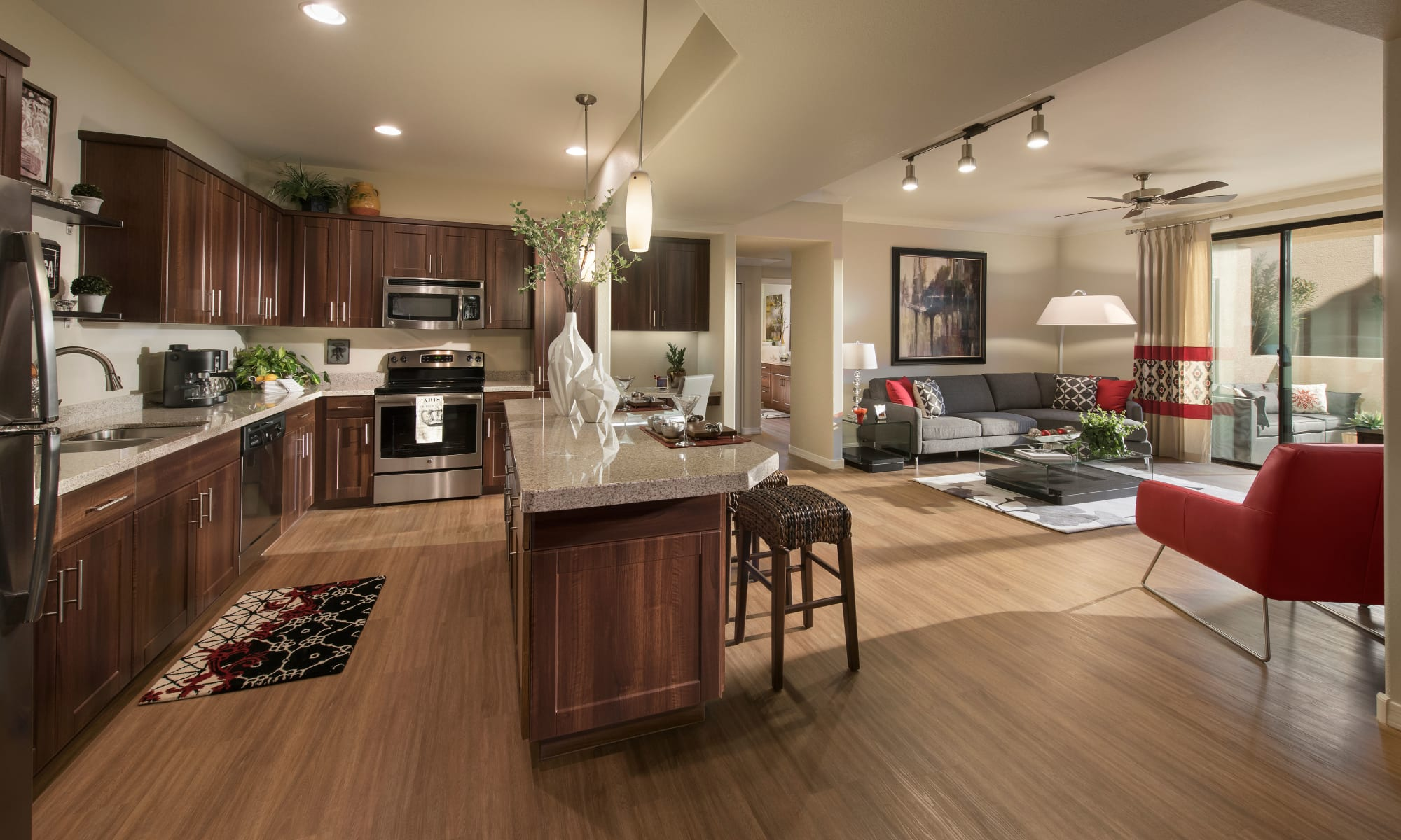Luxury kitchen at San Travesia in Scottsdale, Arizona