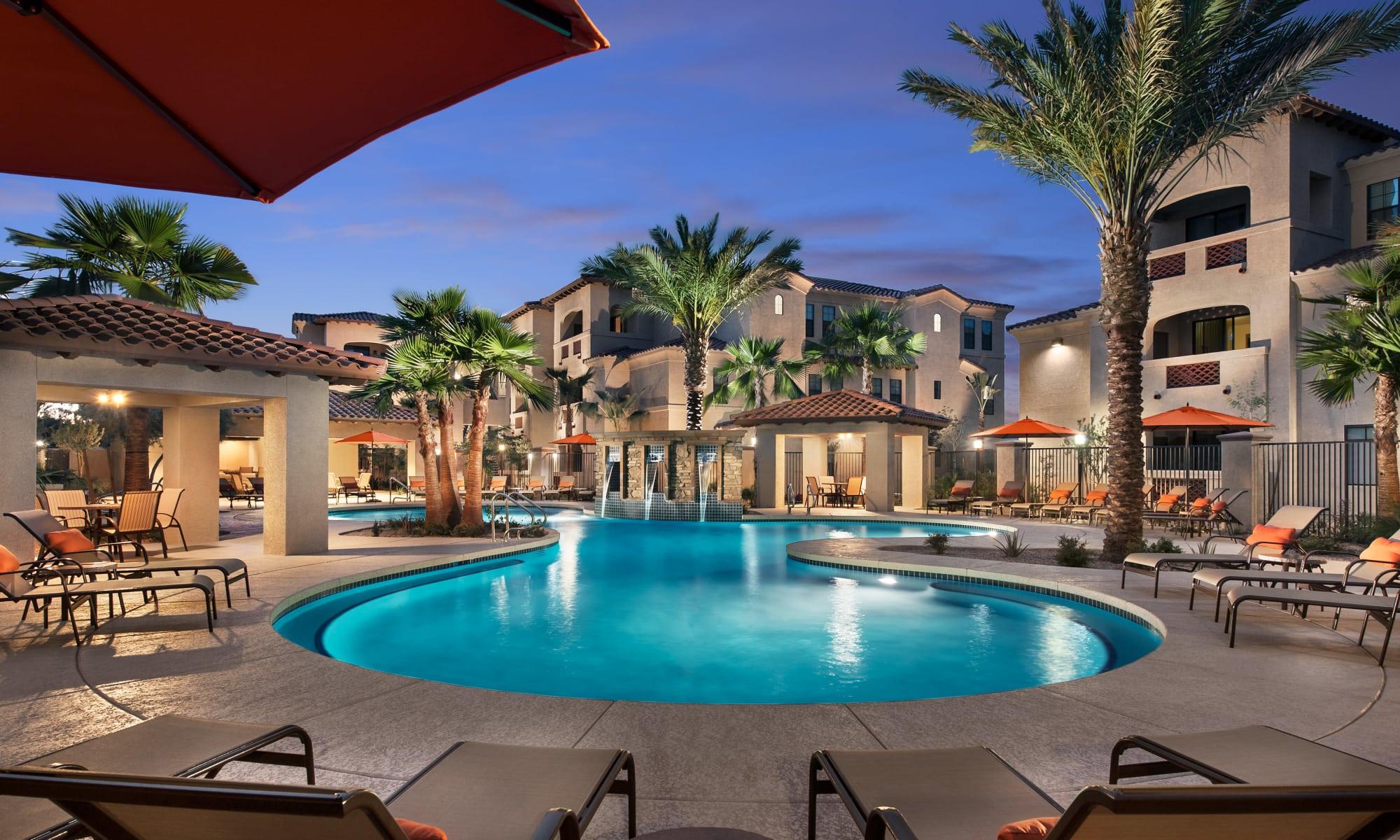 Apartments at San Paseo in Phoenix, Arizona