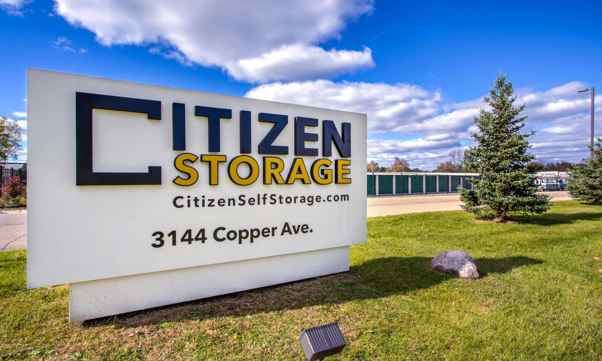 Self Storage at Citizen Storage in Fenton, Michigan