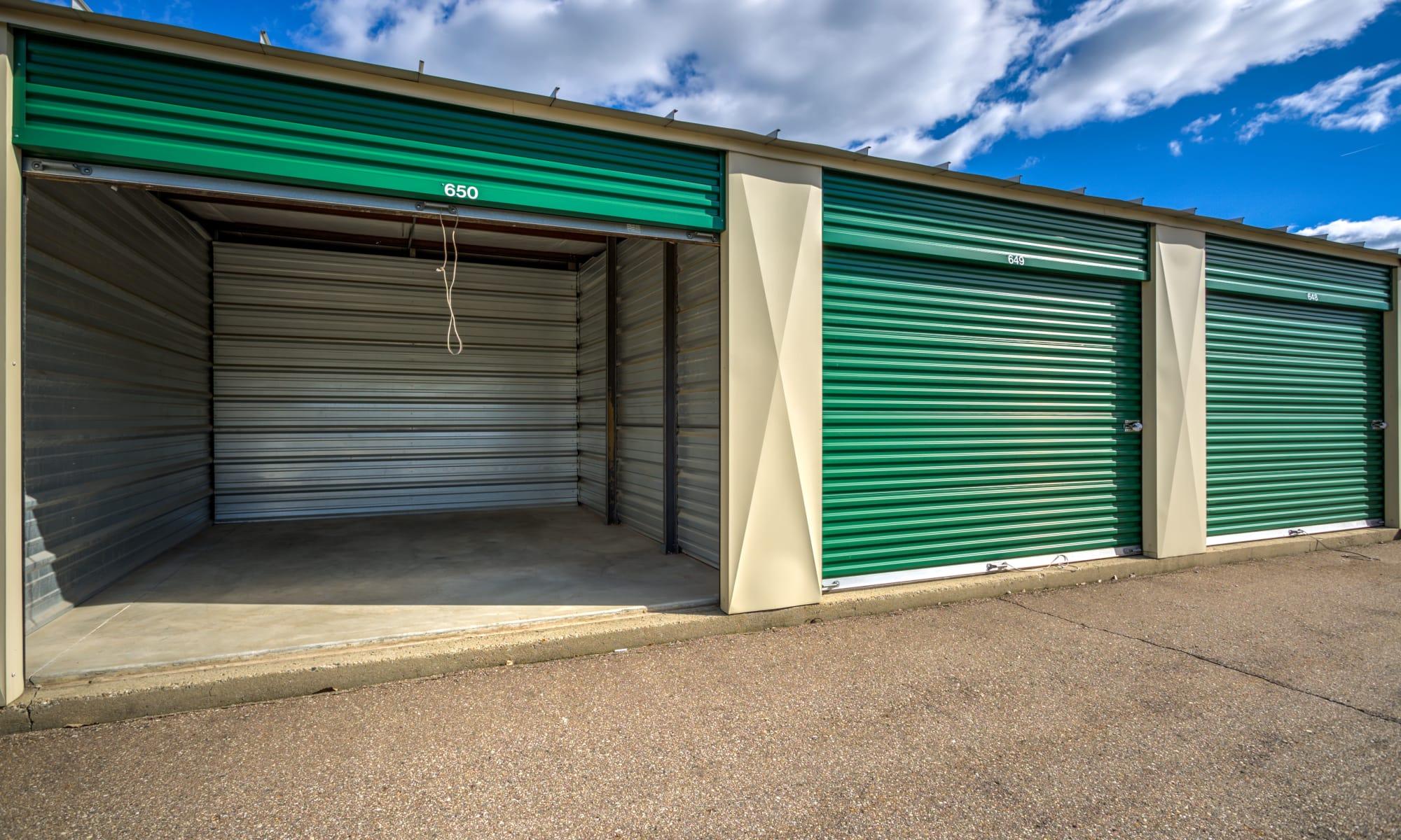 Storage at Citizen Storage in Fenton, Michigan