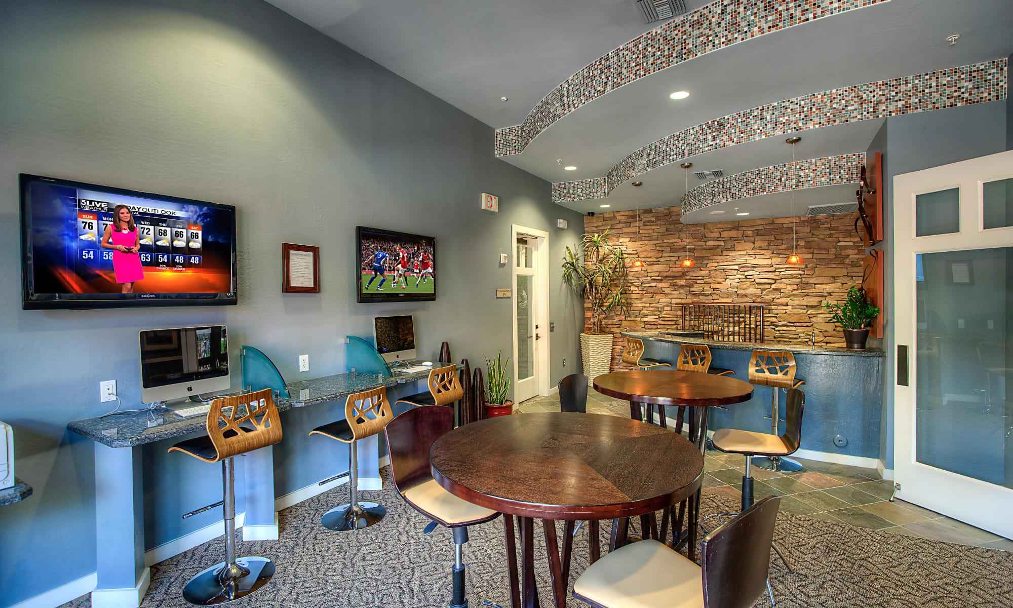 Community amenities at Borrego at Spectrum