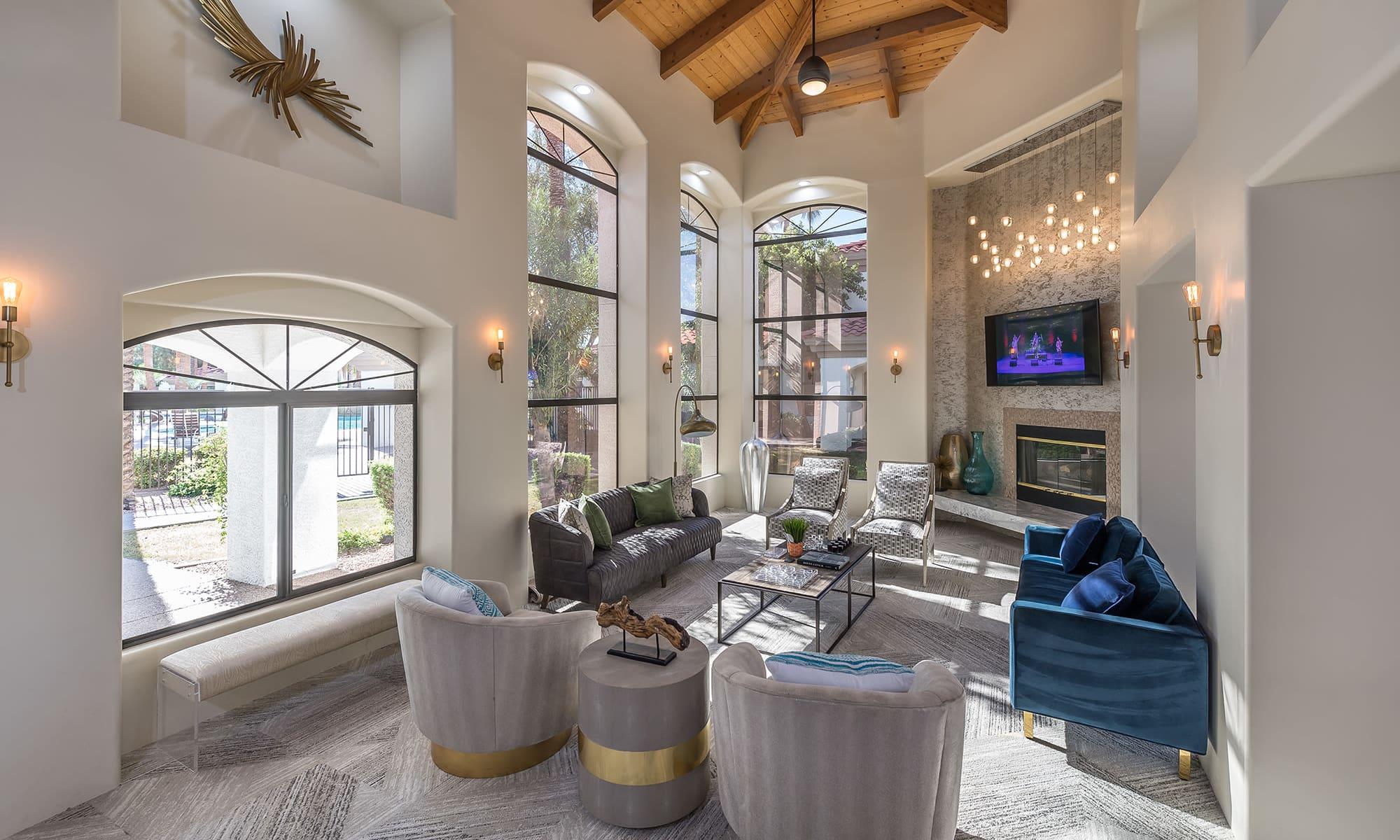 Apartments in Chandler, Arizona, at San Palmas