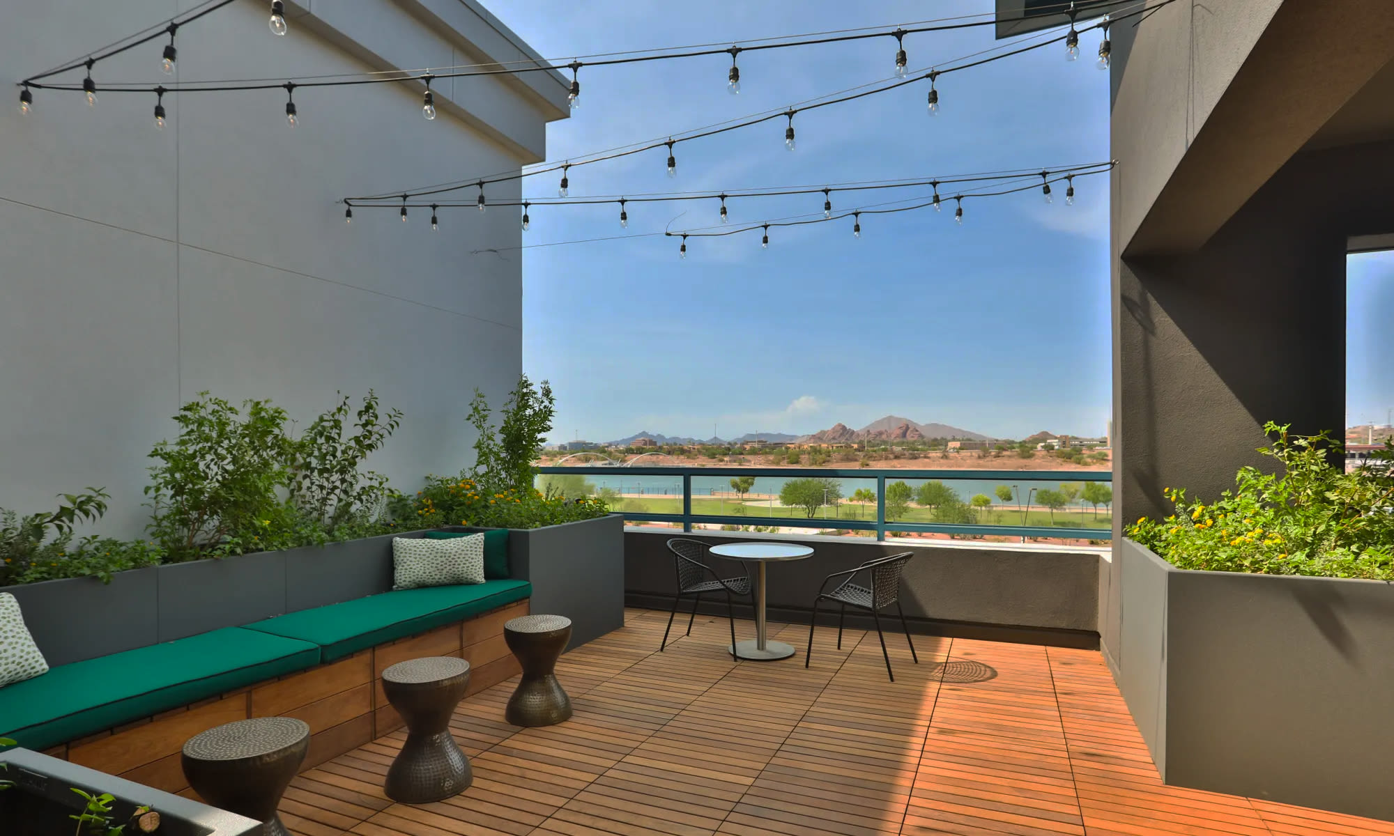 Luxury community space at Lakeside Drive Apartments in Tempe, Arizona