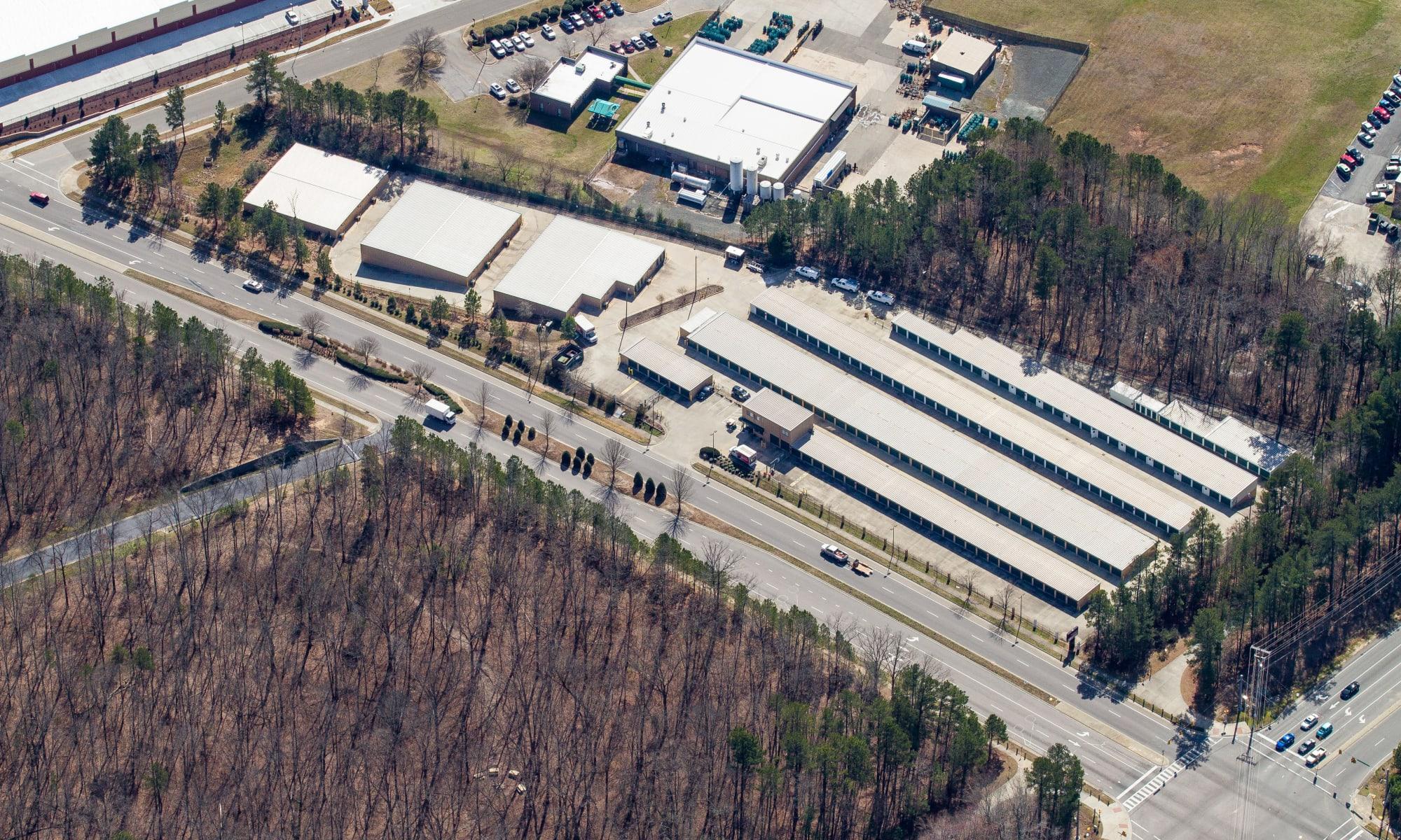 Self storage in Durham North Carolina