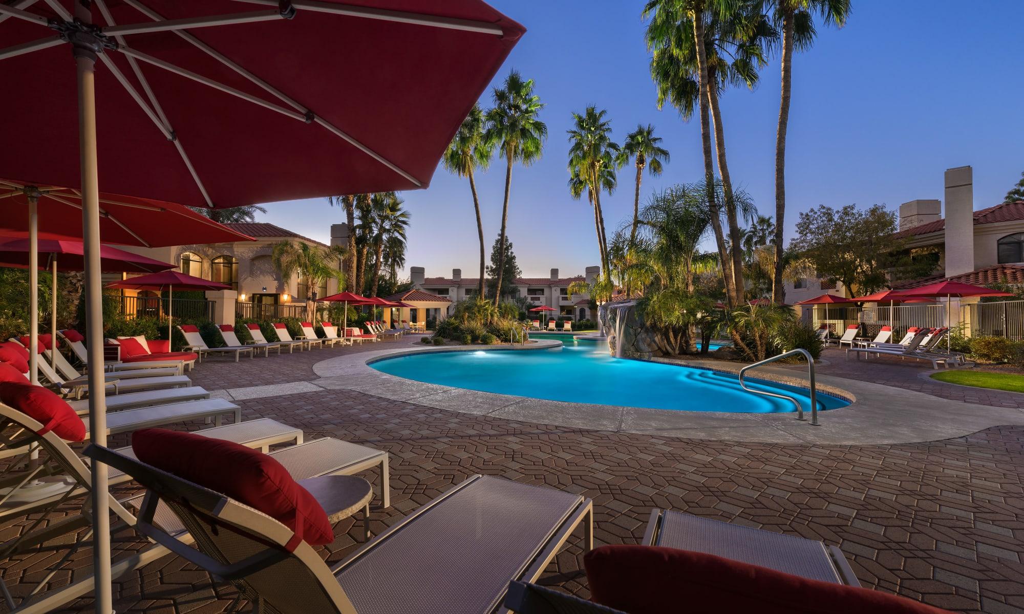 Apartments at San Palmilla in Tempe, Arizona