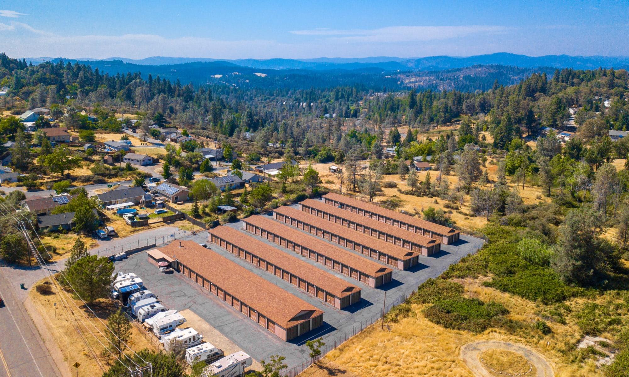 Self storage in Grass Valley, California