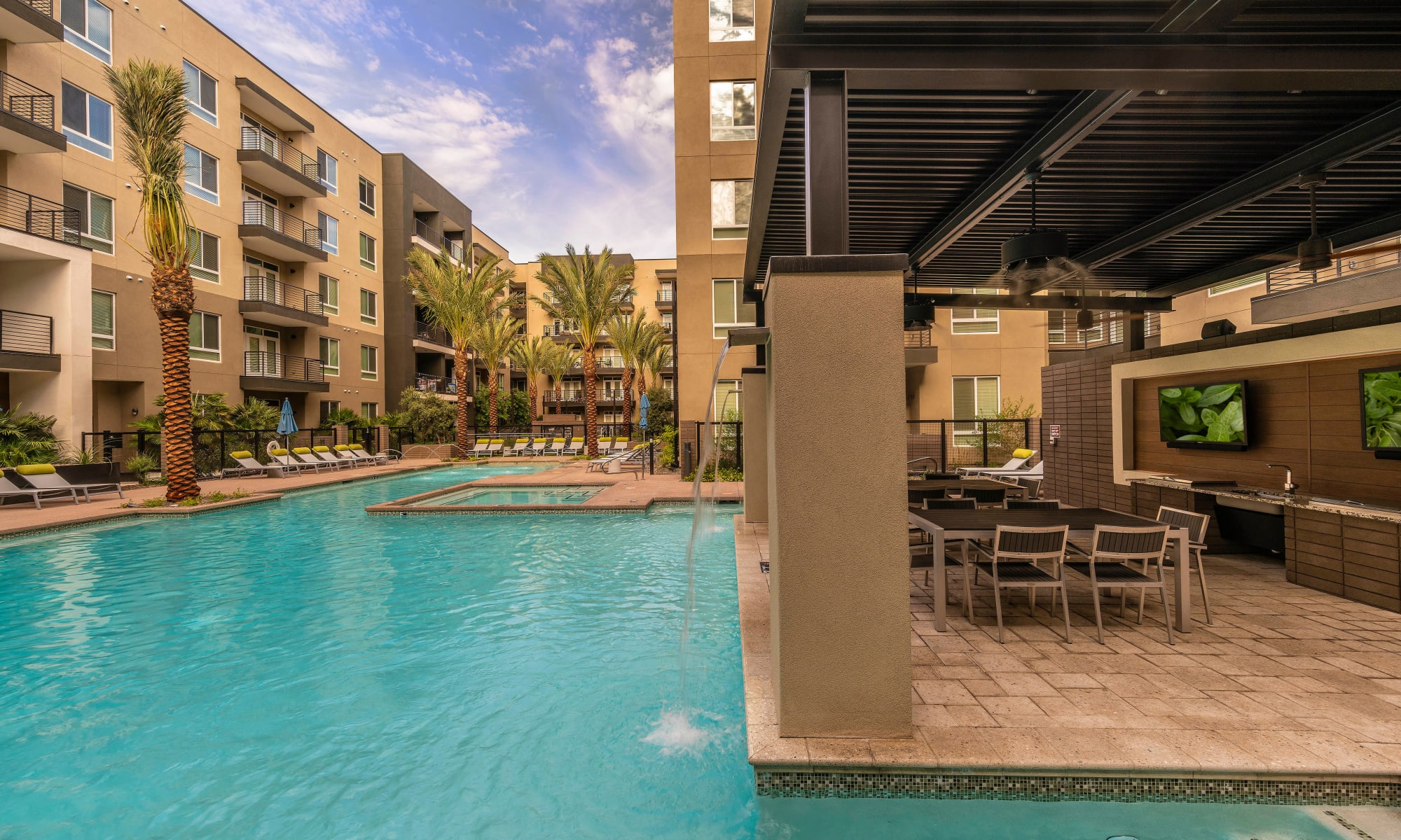 Scottsdale, Arizona, luxury apartments at  Carter