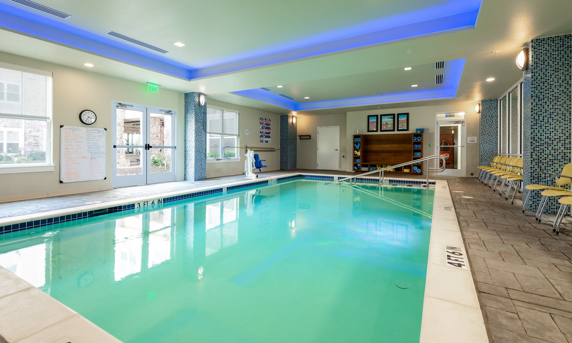 Pool at MacArthur Hills in Irving, Texas