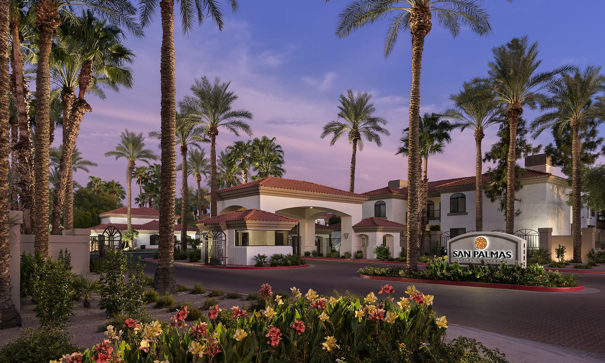 Apartments at San Palmas in Chandler, Arizona