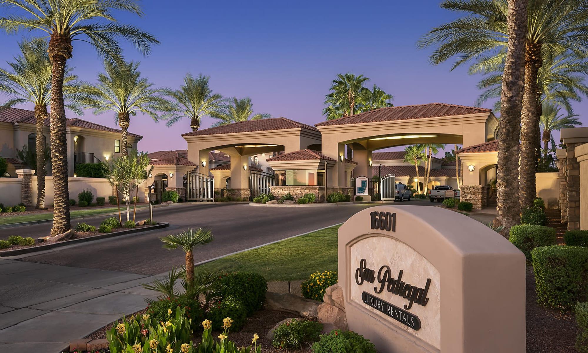 Apartments at San Pedregal in Phoenix, Arizona