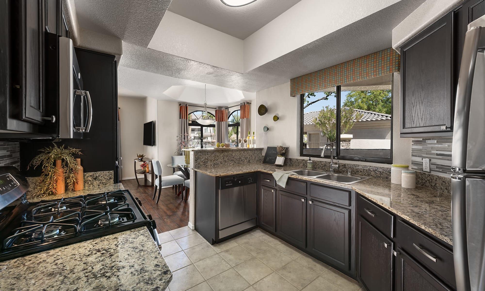 Phoenix, Arizona, apartments at San Pedregal