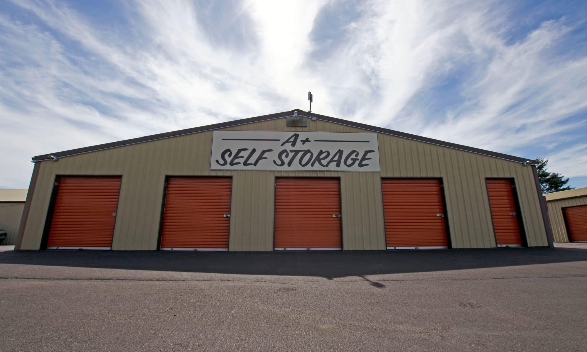 Self storage in Woodburn OR