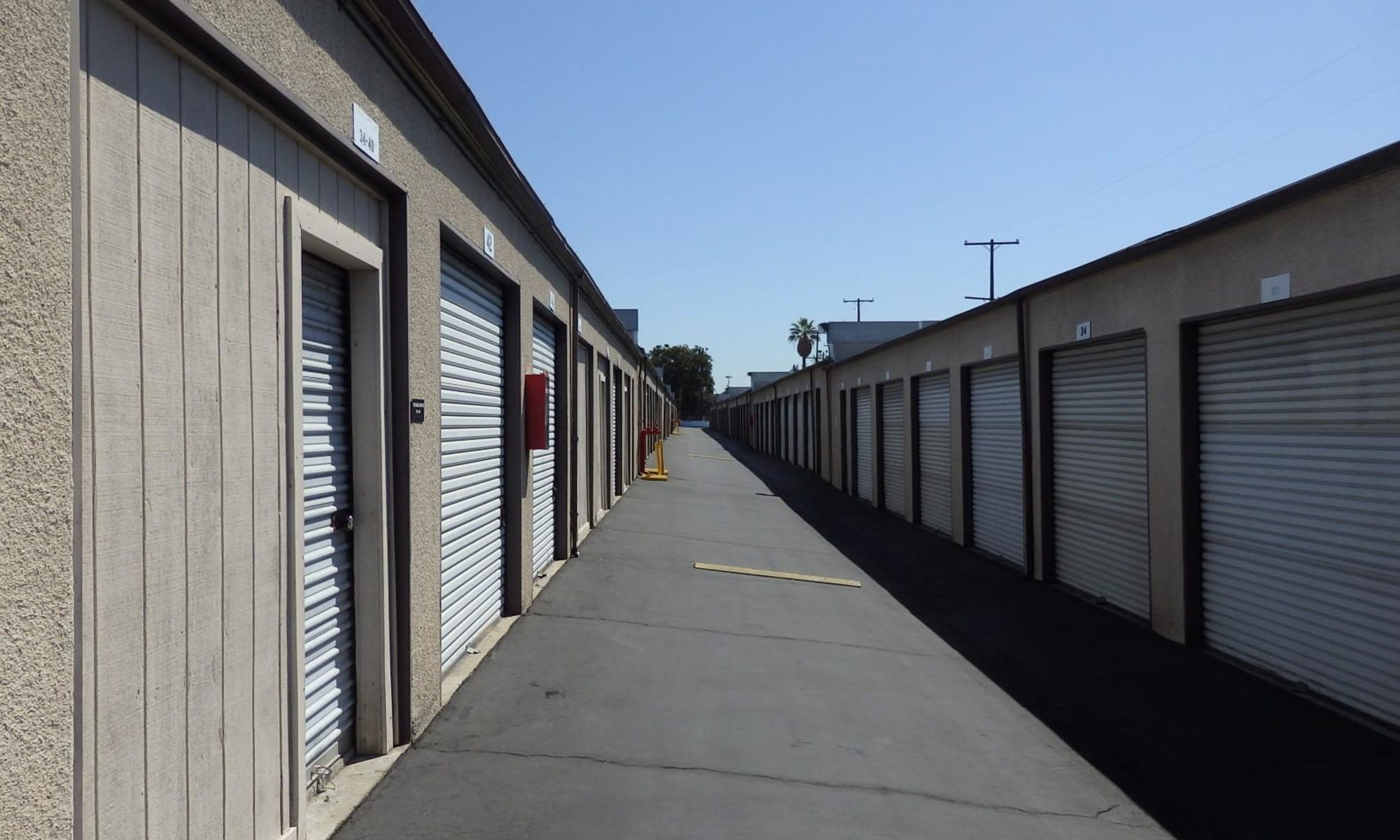 Auto, boat, and RV storage at Storage Solutions in Pomona, California