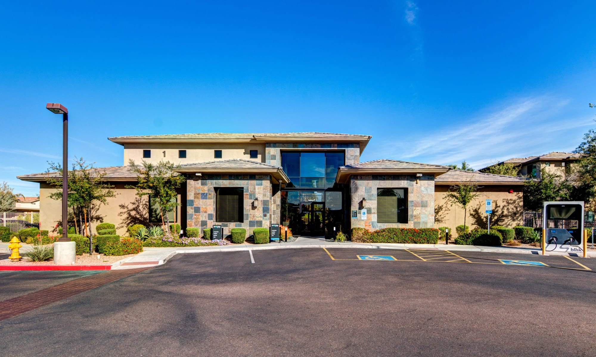 Leasing office at Spectra on 7th South in Phoenix, Arizona