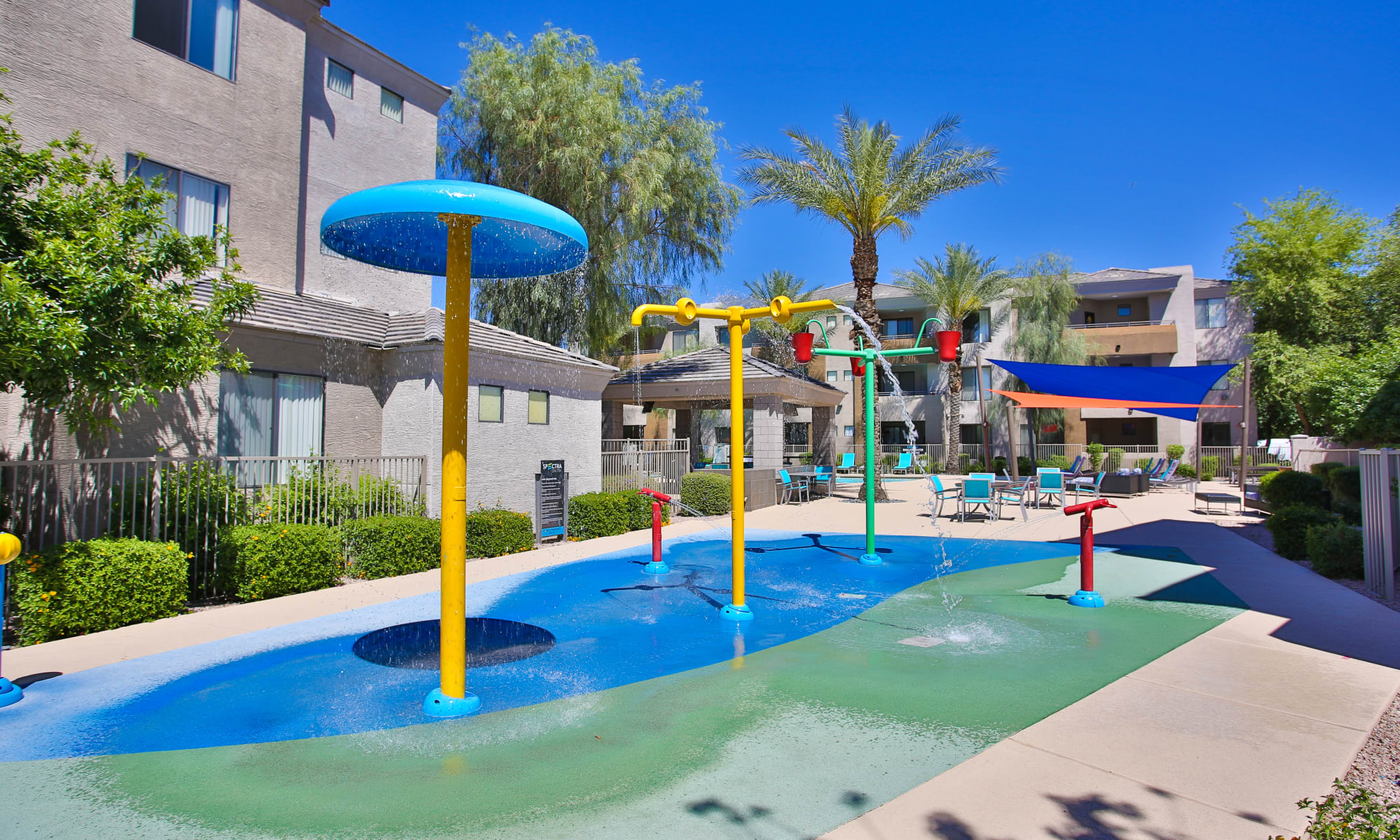 Wonderful water park at Spectra on 7th South in Phoenix, Arizona