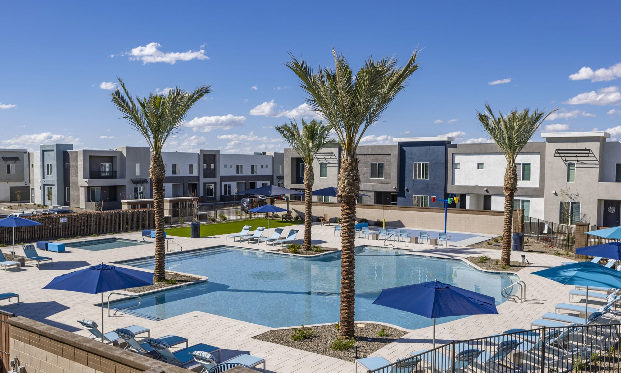 BB Living at Val Vista Townhomes in Gilbert, Arizona