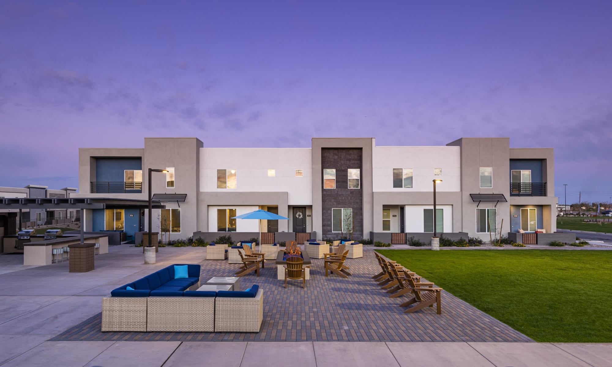 Townhomes in Gilbert, Arizona at BB Living at Val Vista