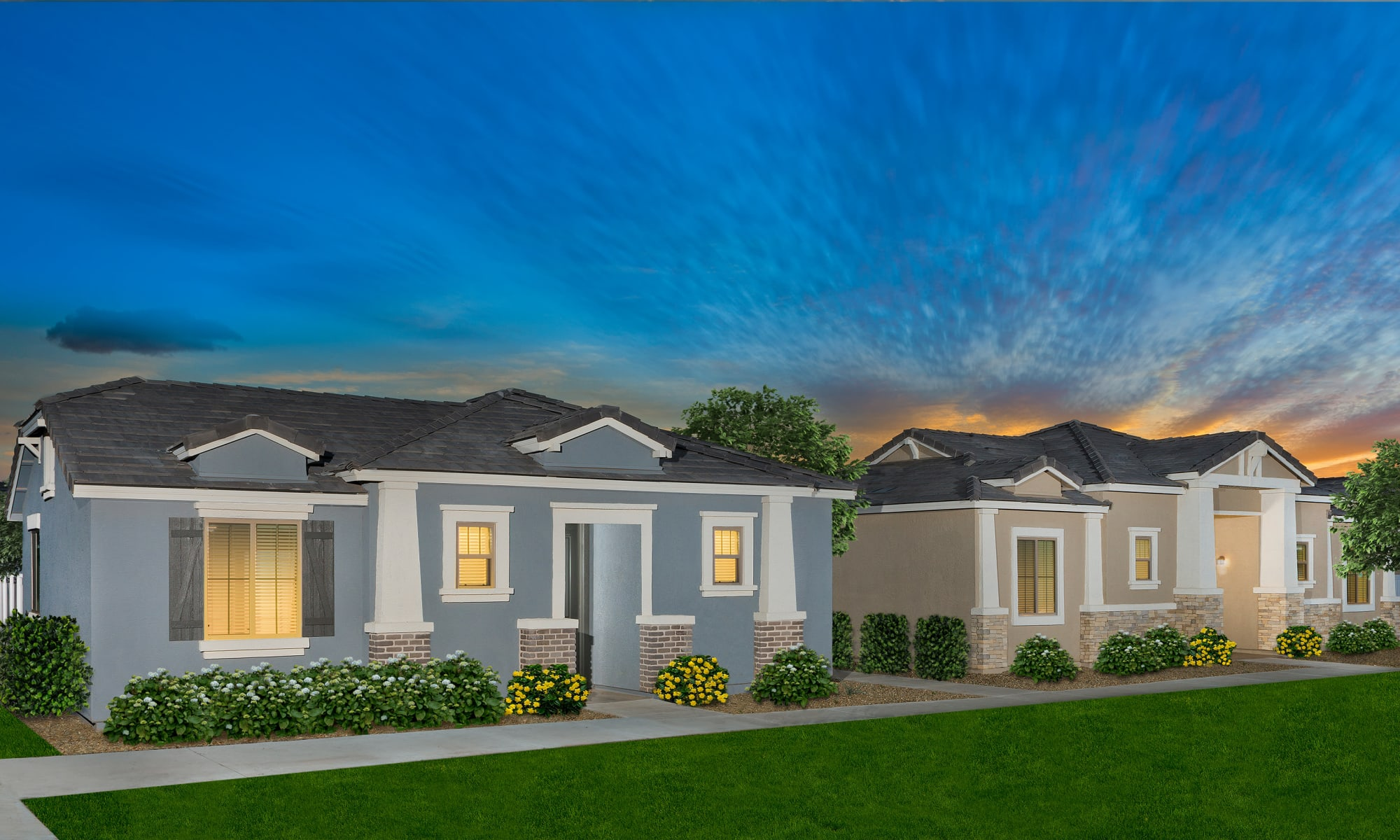 Houses at Christopher Todd Communities On Mountain View in Surprise, Arizona