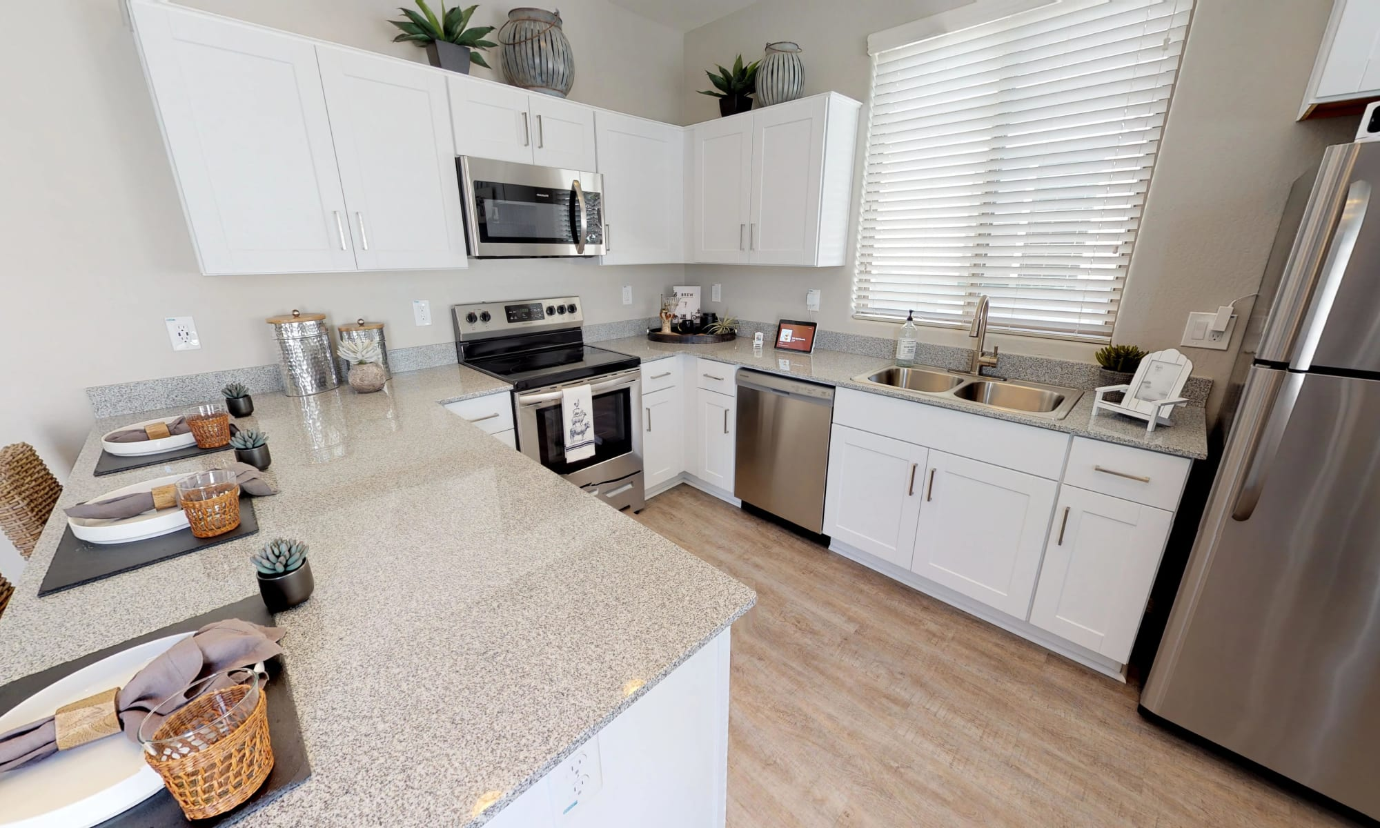 Kitchen at Christopher Todd Communities On Mountain View in Surprise, Arizona
