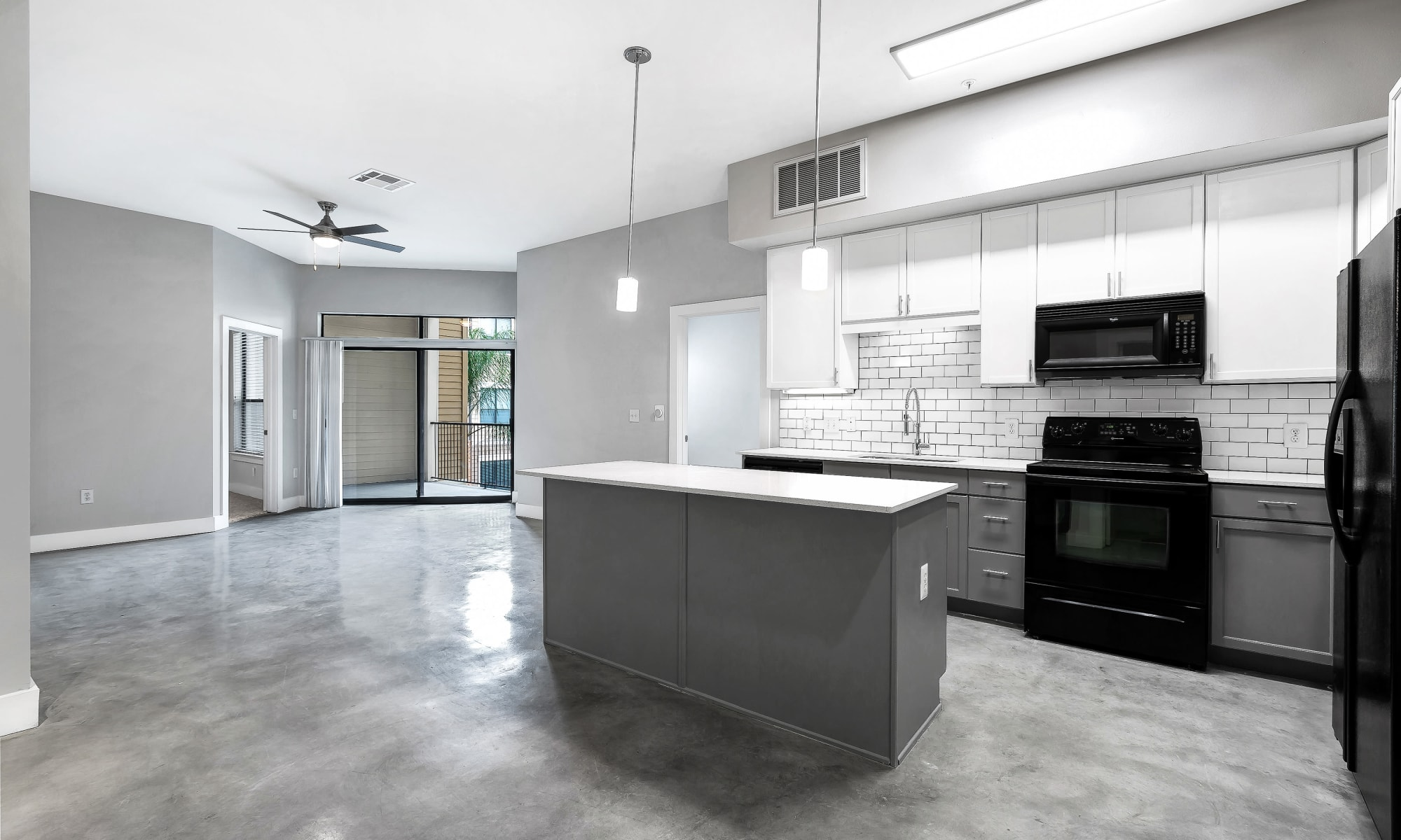 Beautiful apartments at Residences at The Triangle in Austin, Texas