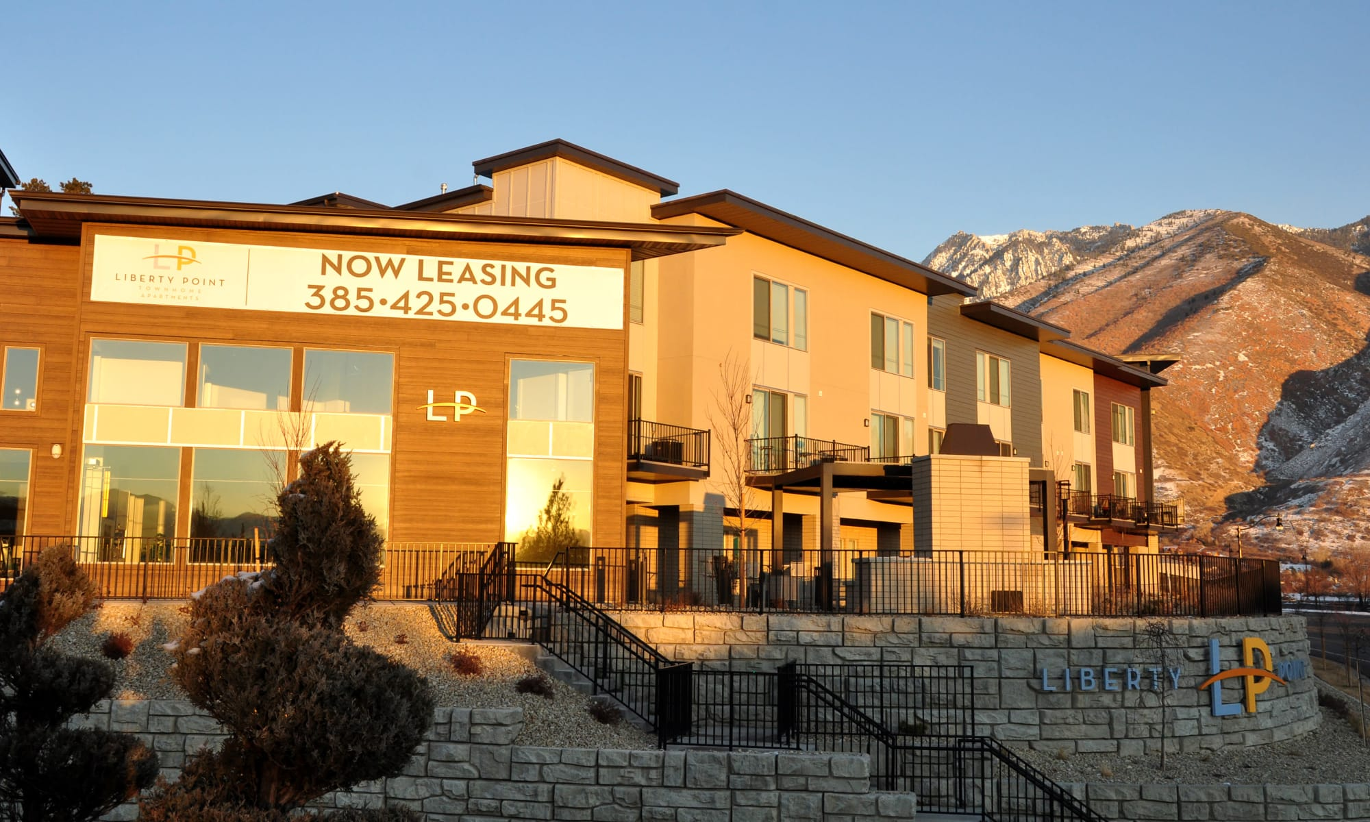 Apartments at Liberty Point Townhome Apartments in Draper, Utah