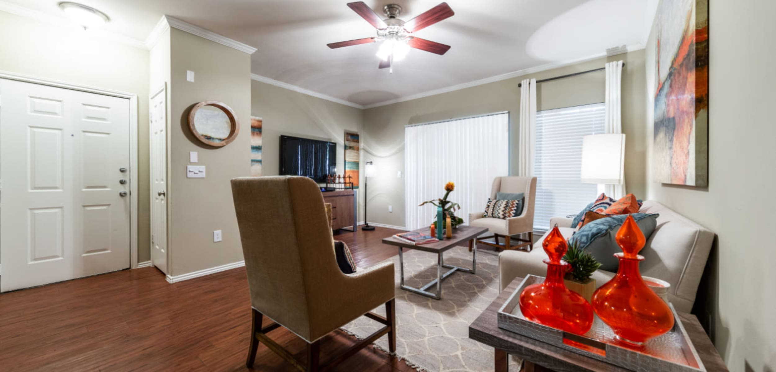 Living space at Marquis at Ladera Vista in Austin, Texas