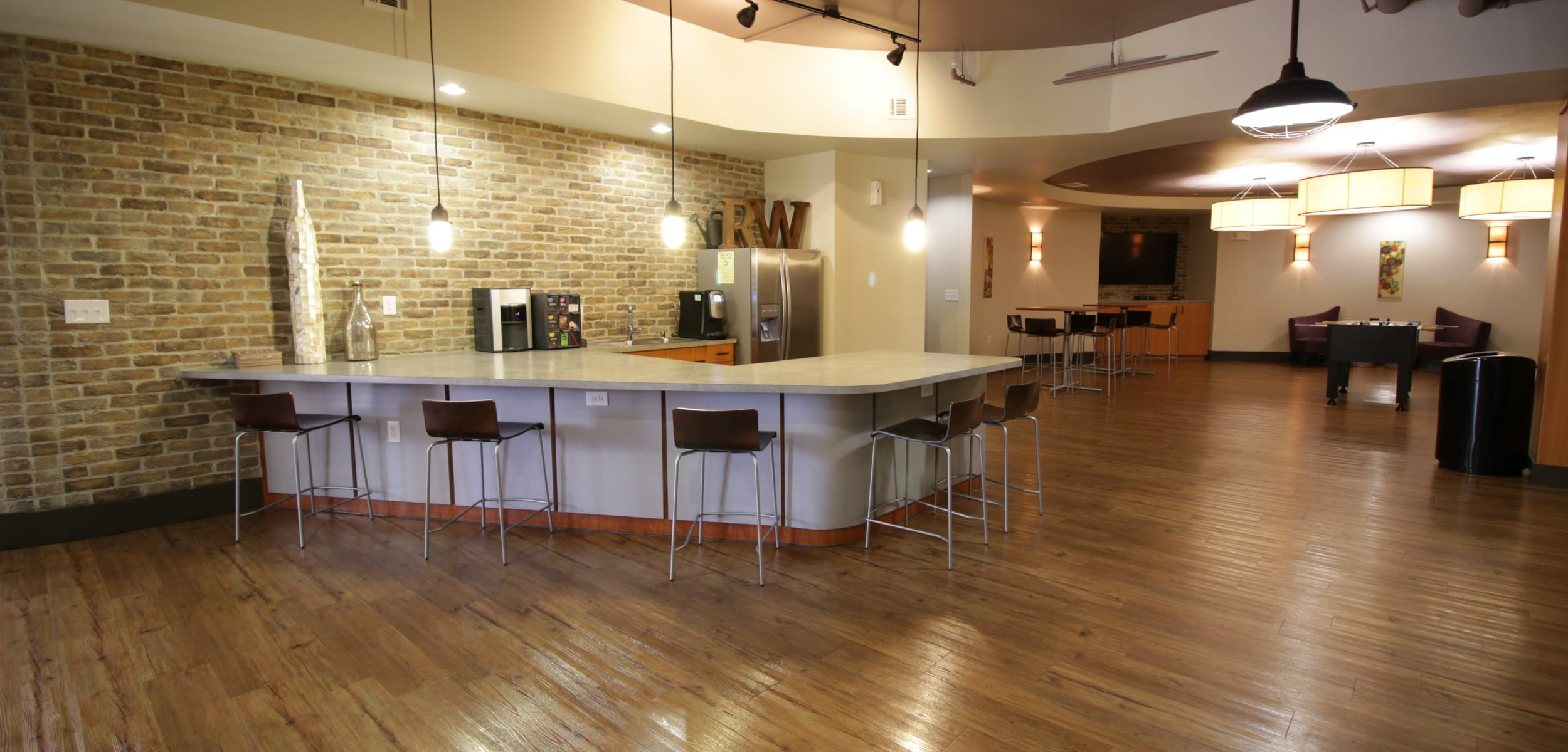 Regents West at 26th's community kitchen in Austin, Texas