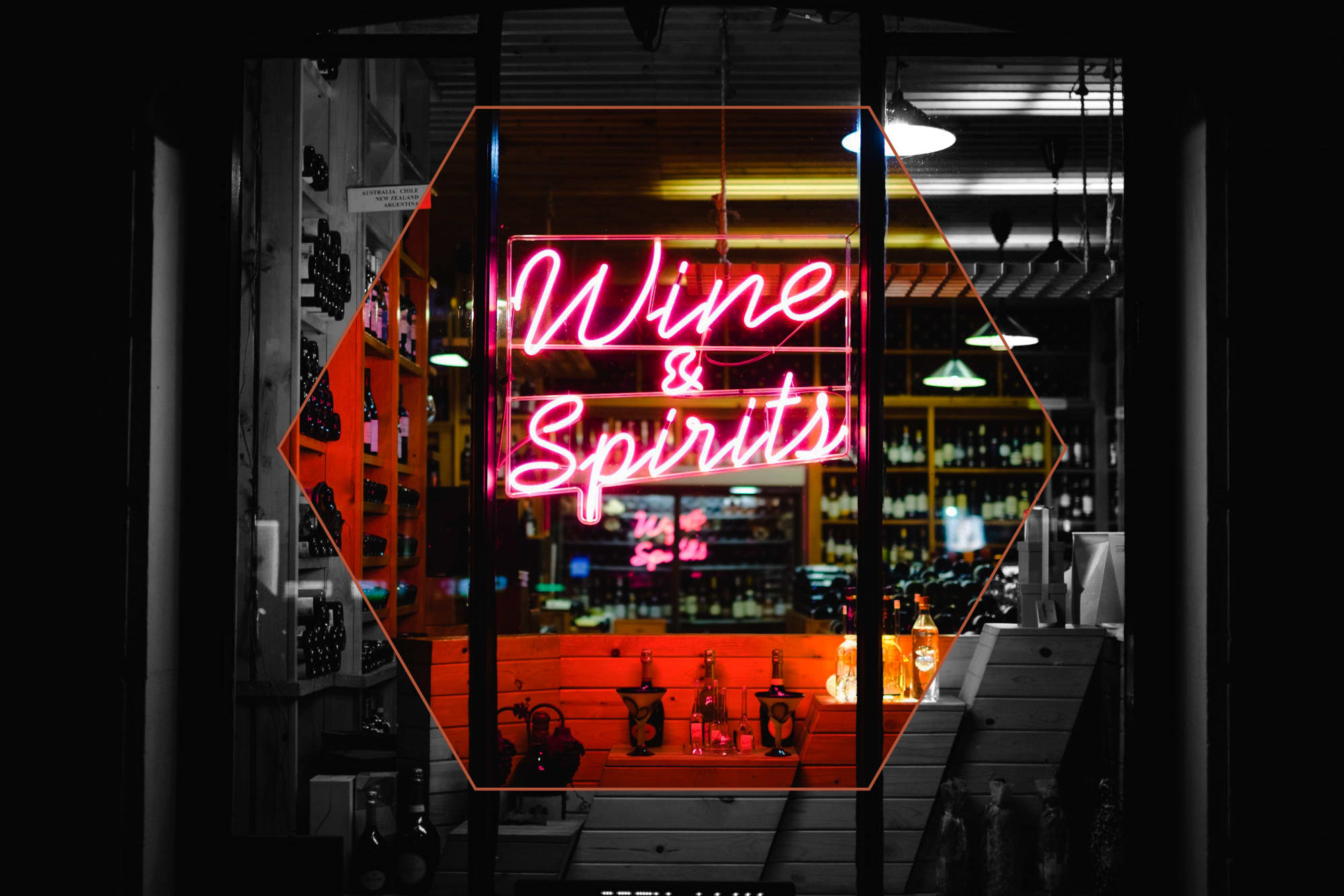 Wine and spirits in Dallas, Texas near Alta Trinity Green