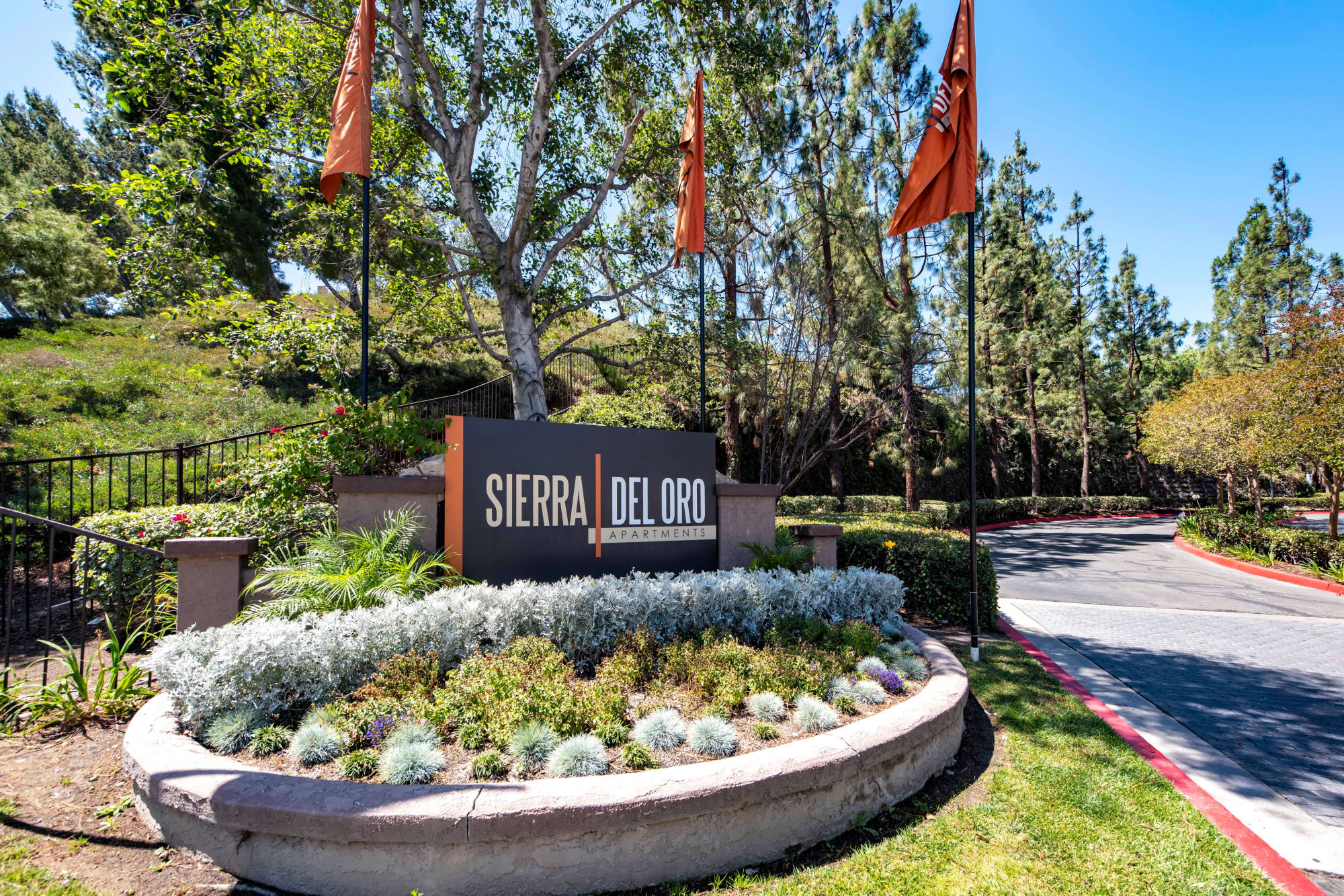 Signage at Sierra Del Oro Apartments