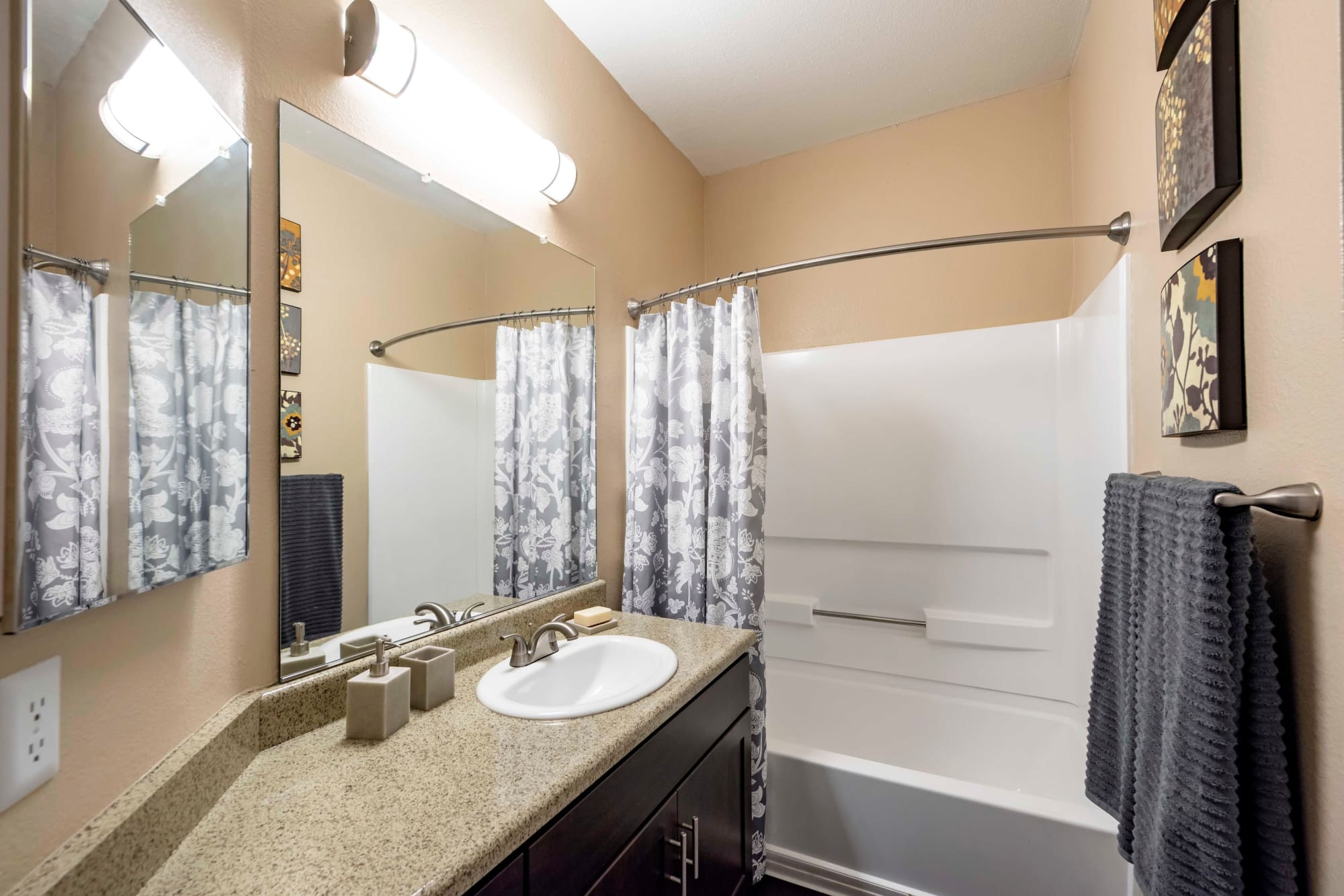 Bathroom at Sierra Del Oro Apartments