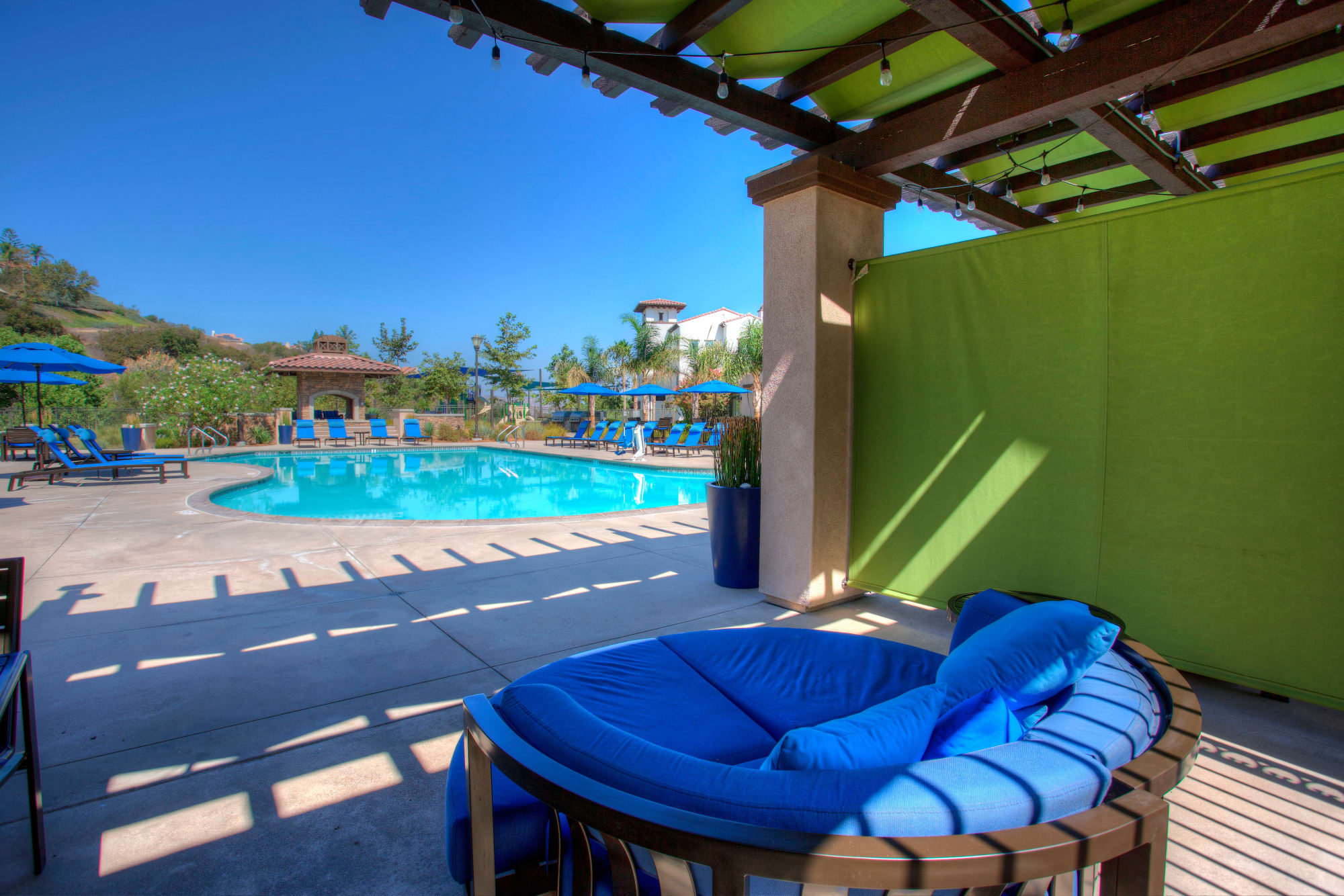 Poolside Cabanas at Palisades Sierra Del Oro