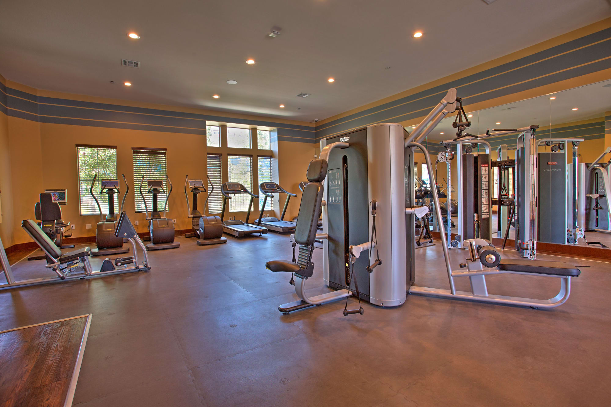 Well Equiped Fitness Center at Palisades Sierra Del Oro